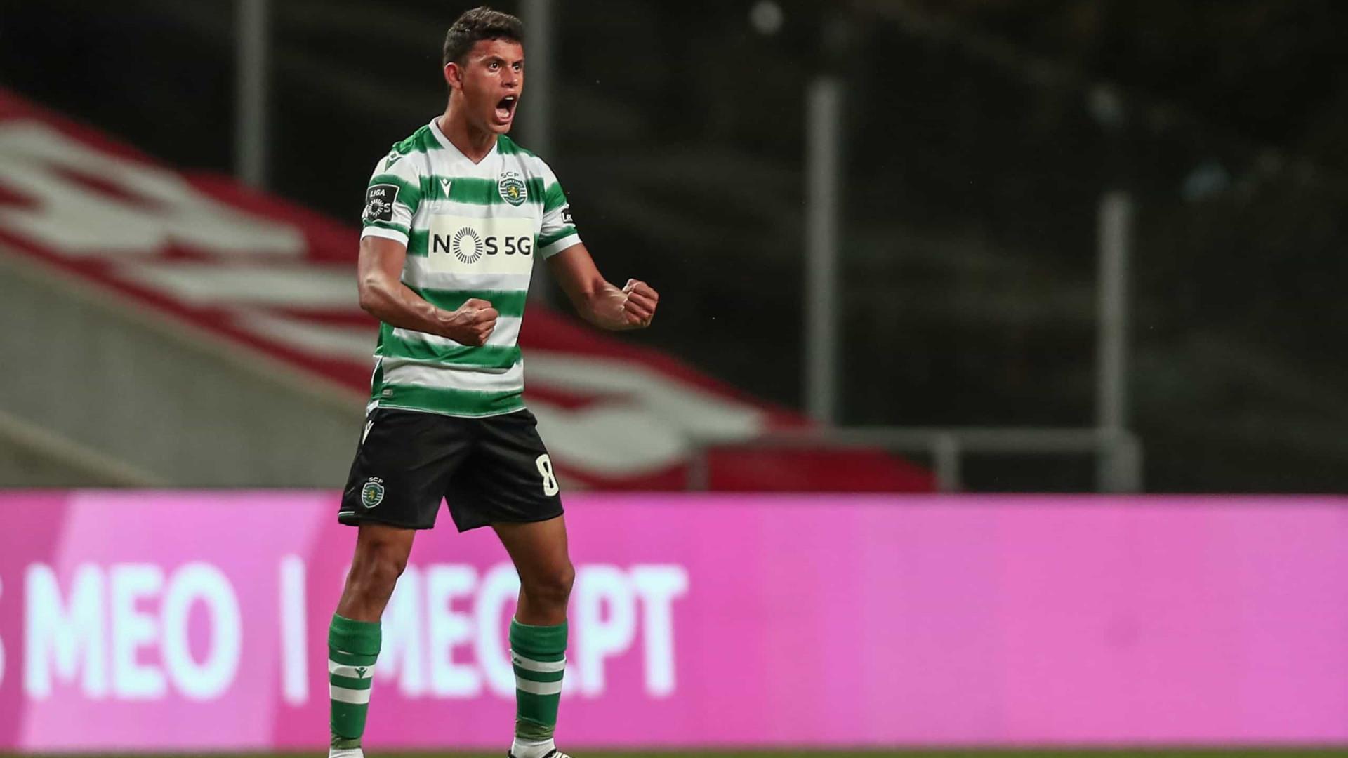 Oficial: Sporting renova com Matheus Nunes