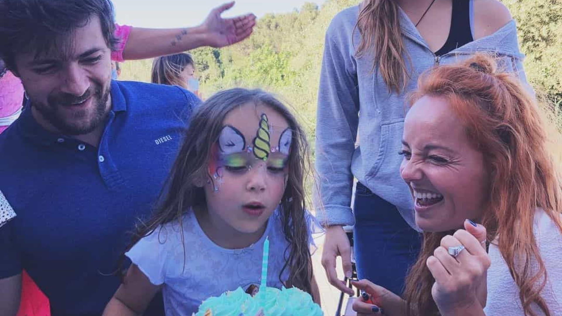 As imagens da festa de aniversário da filha de Bárbara Norton de Matos