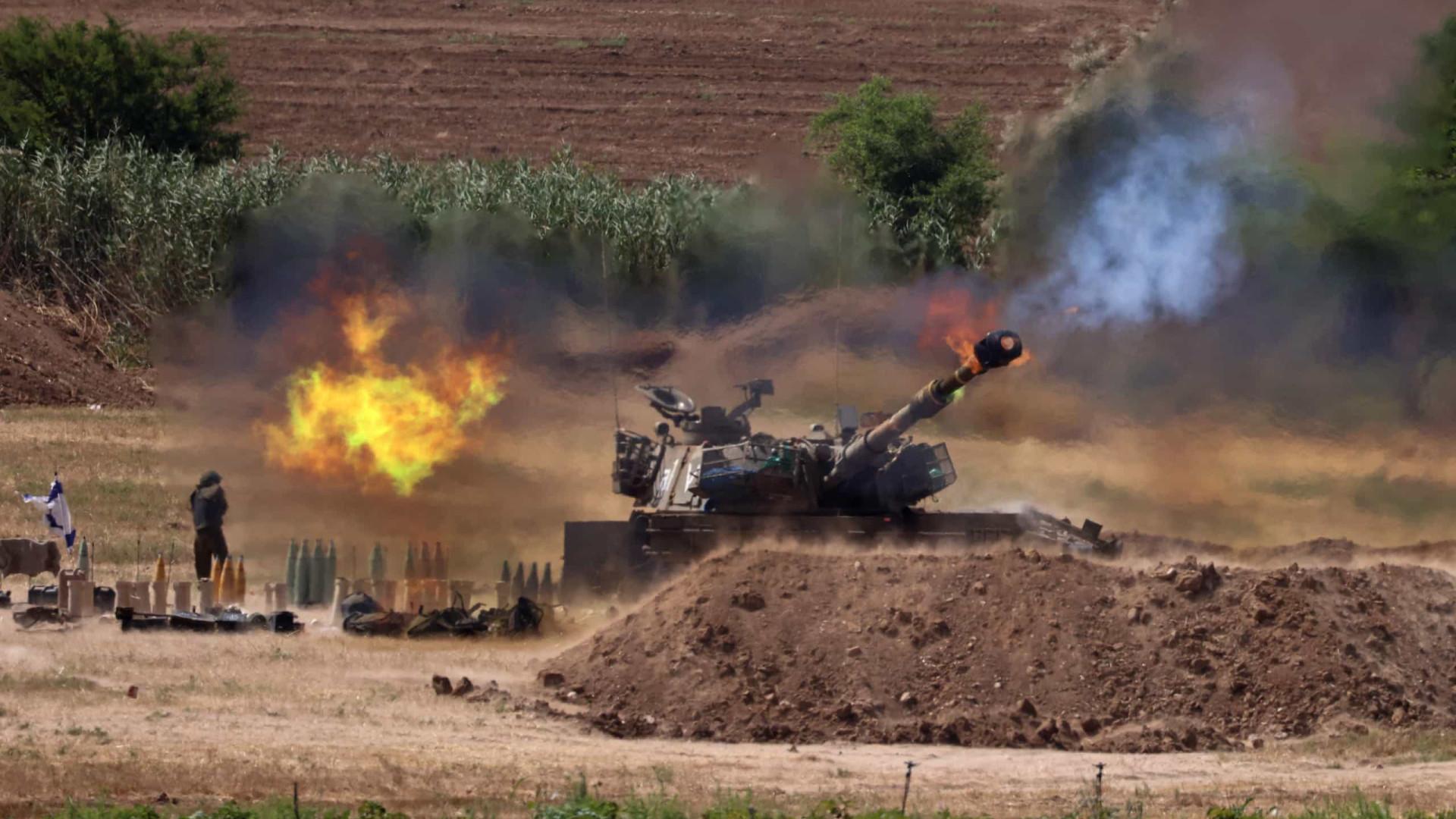 Ataques destruíram 15 quilómetros de túneis do Hamas em Gaza