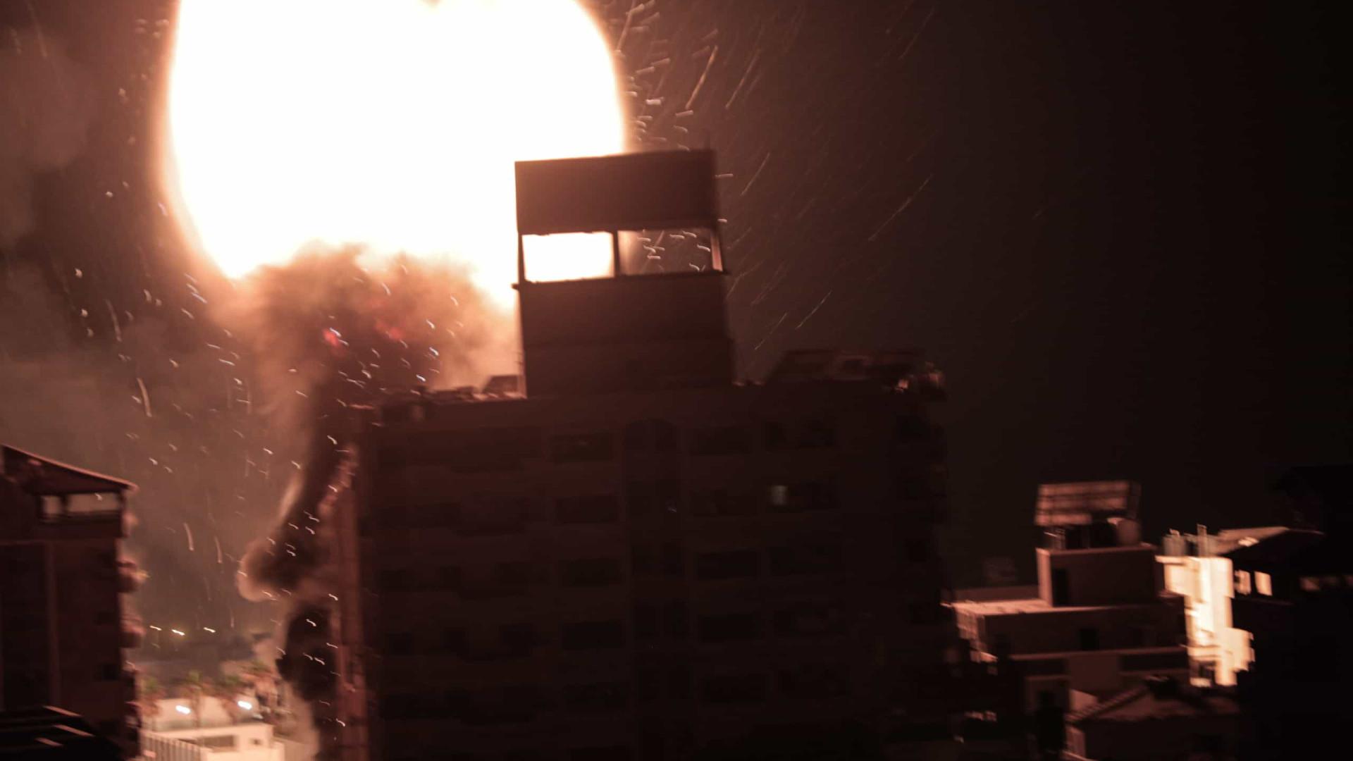Últimas horas registaram os ataques mais fortes de Israel contra Gaza