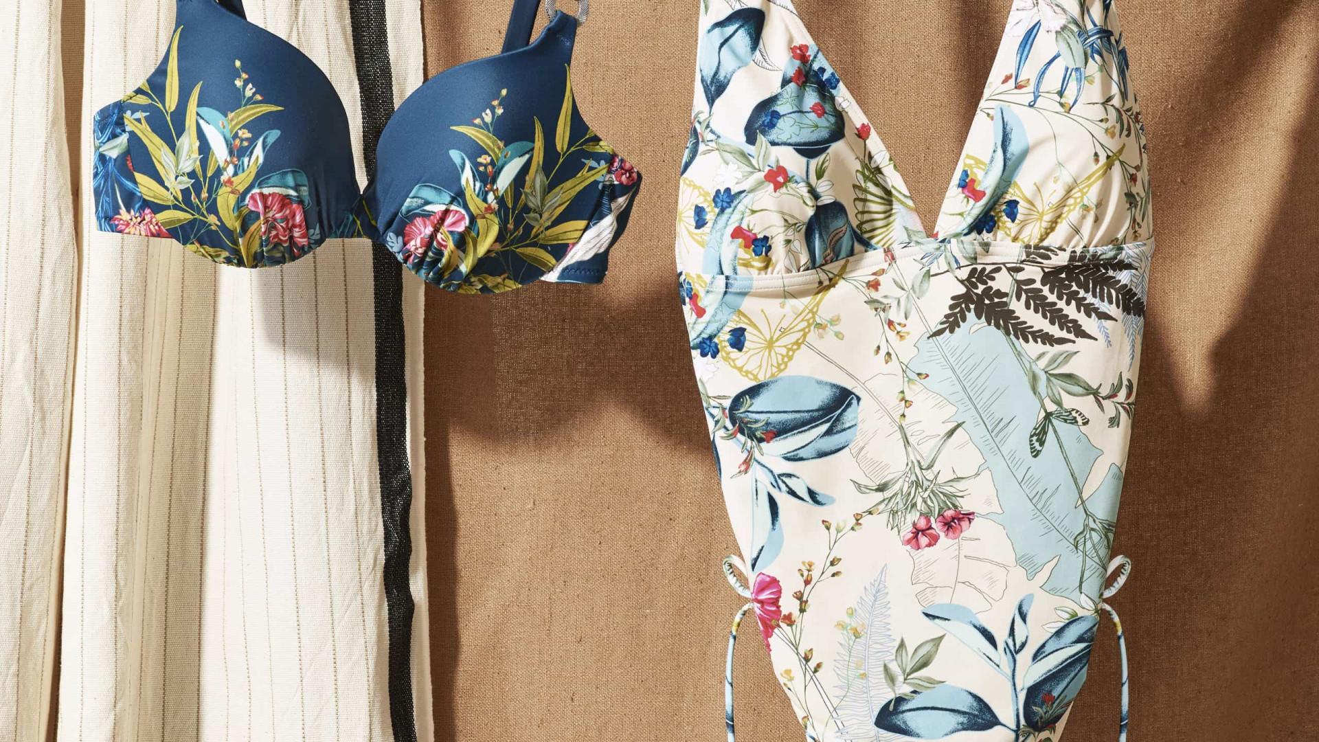 A coleção de 'beachwear' da Triumph vai acompanhar cada momento ao sol