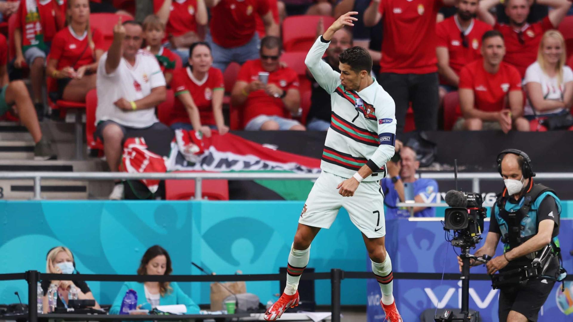 """Selecionador húngaro visa Cristiano Ronaldo: """"Consegue ser desagradável"""""""