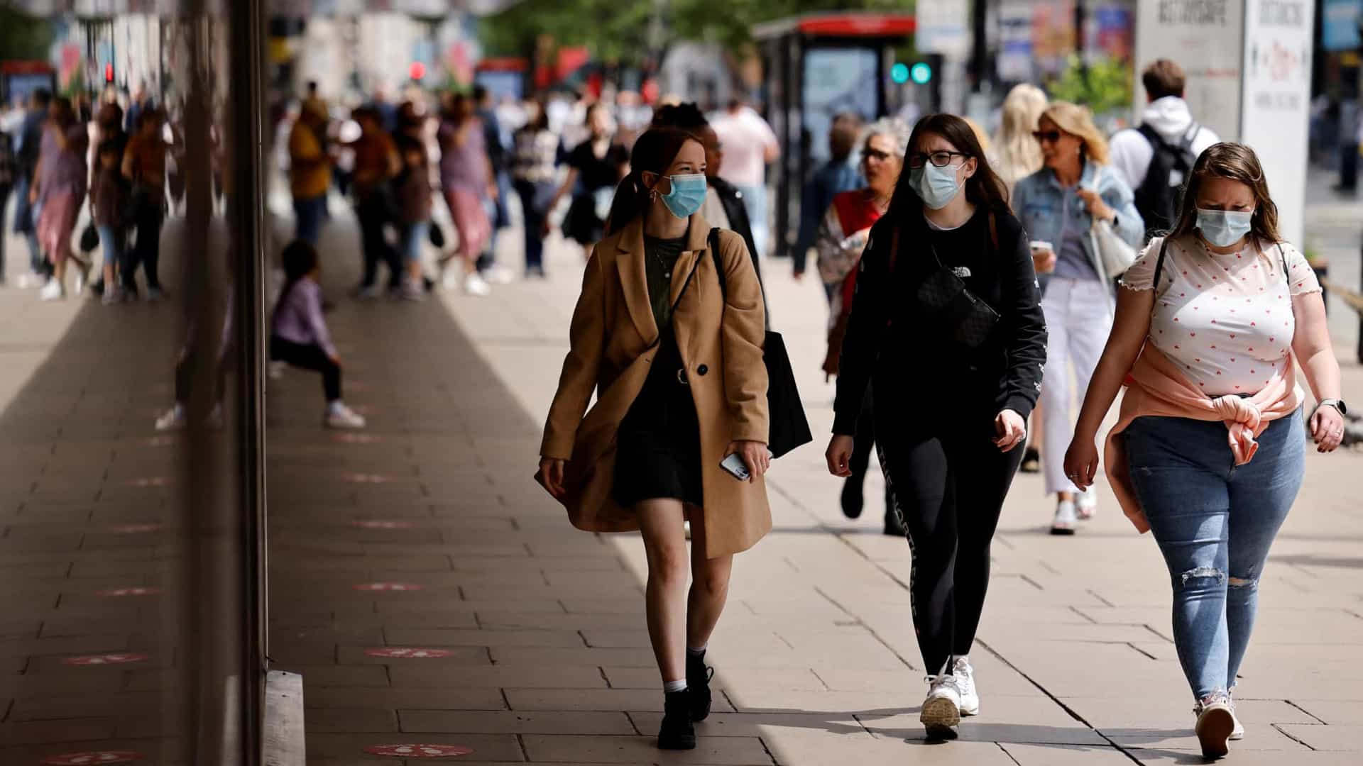 Covid-19. Reino Unido contabiliza mais 9.284 contágios e seis mortes