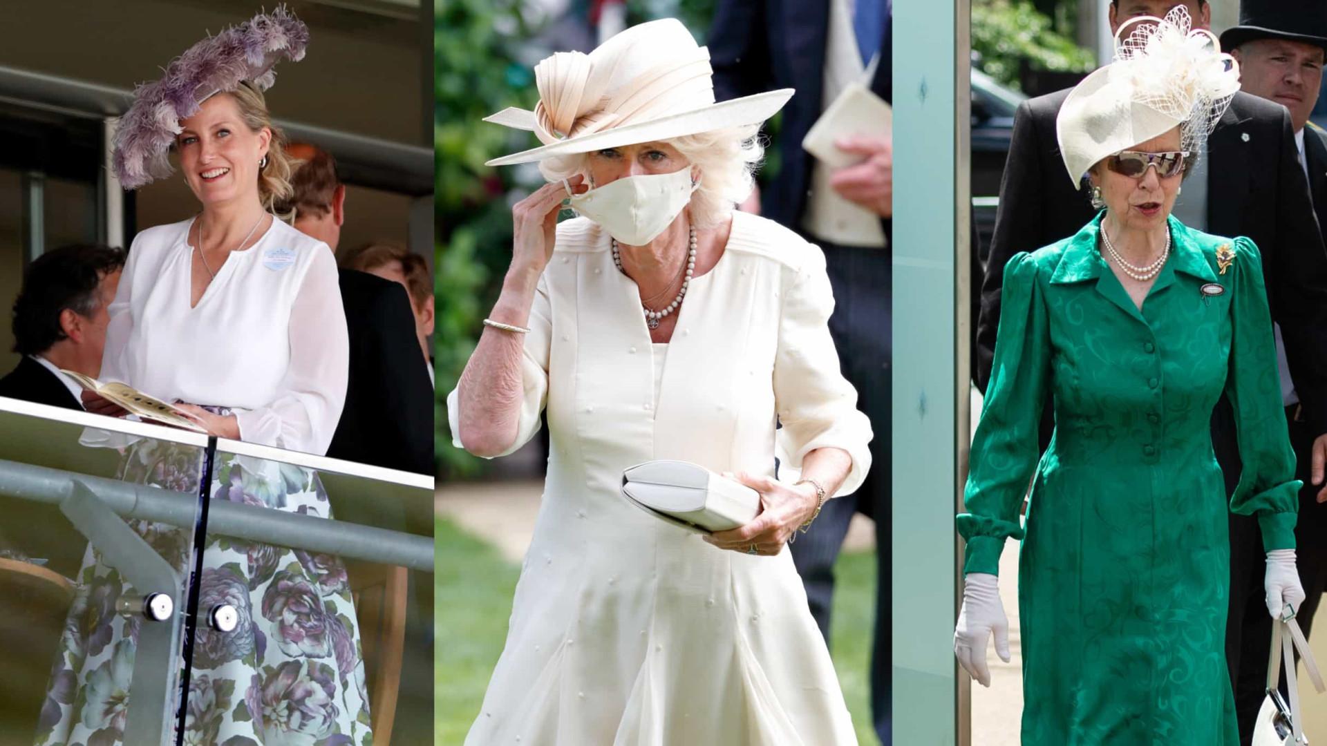 Os membros da realeza que brilharam no segundo dia do Royal Ascot
