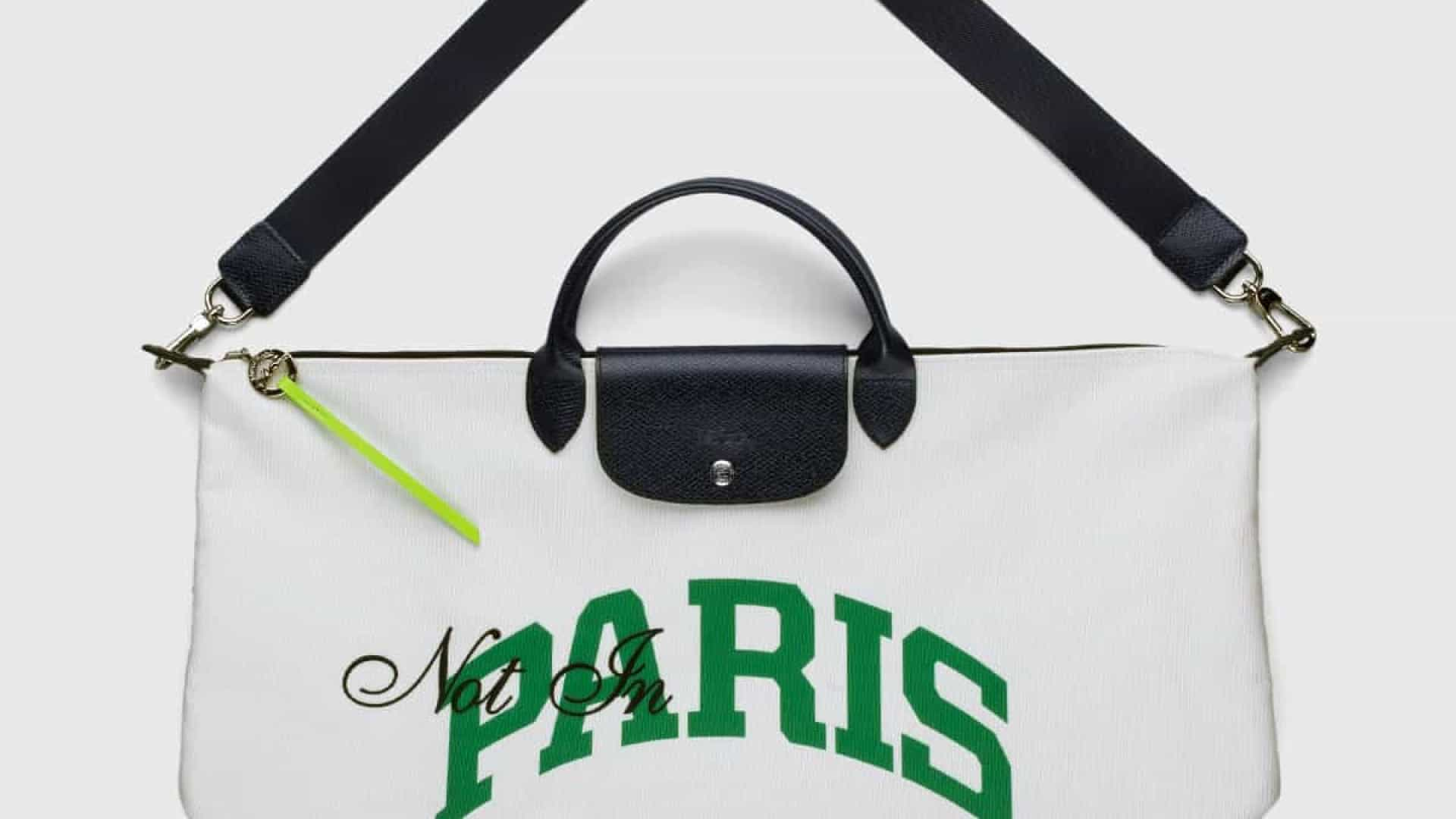 'Not in Paris'. Longchamp recria Le Pliage com Highsnobiety