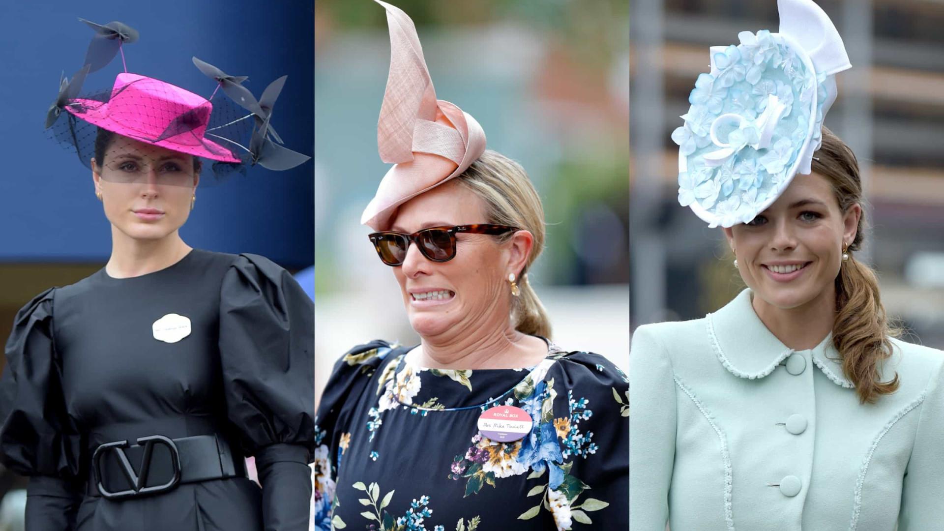 Chapéus, os protagonistas do terceiro dia do Royal Ascot