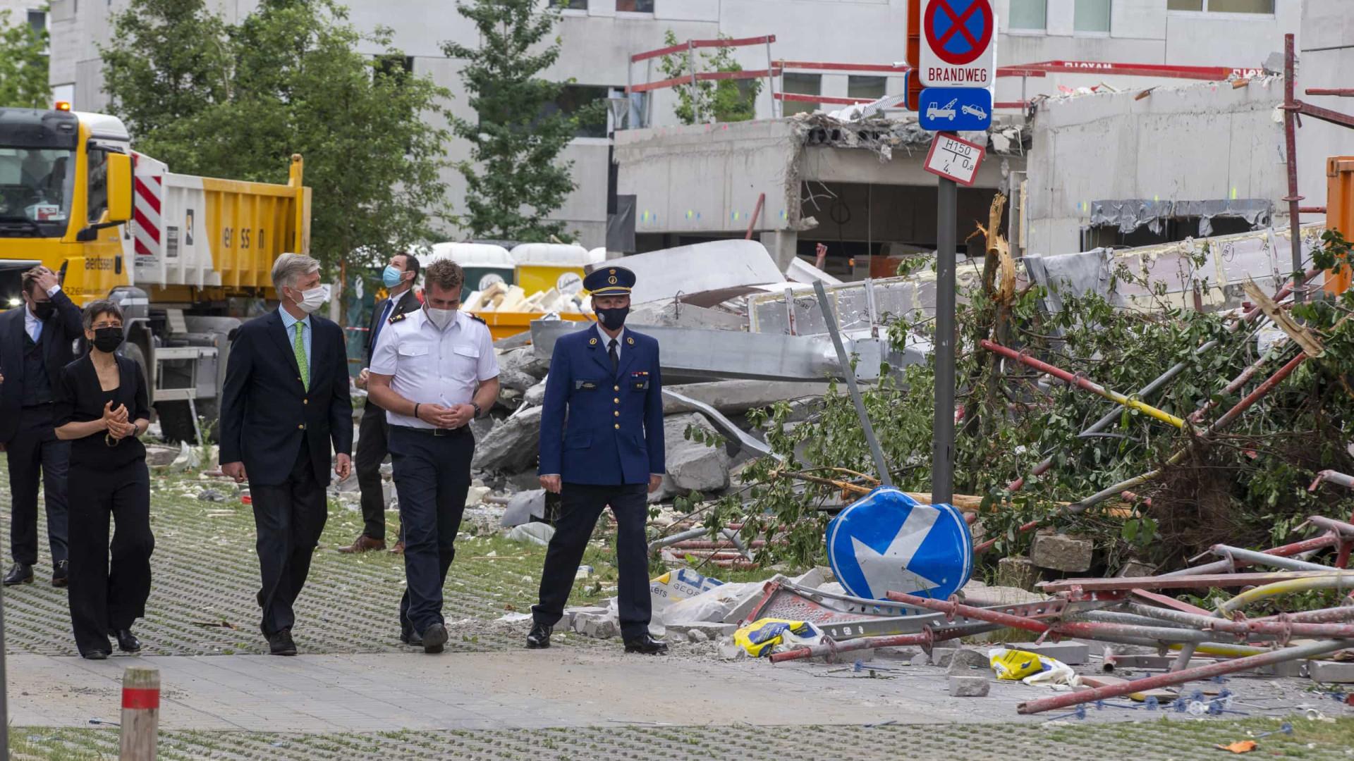 Desabamento de escola em Antuérpia matou quatro portugueses