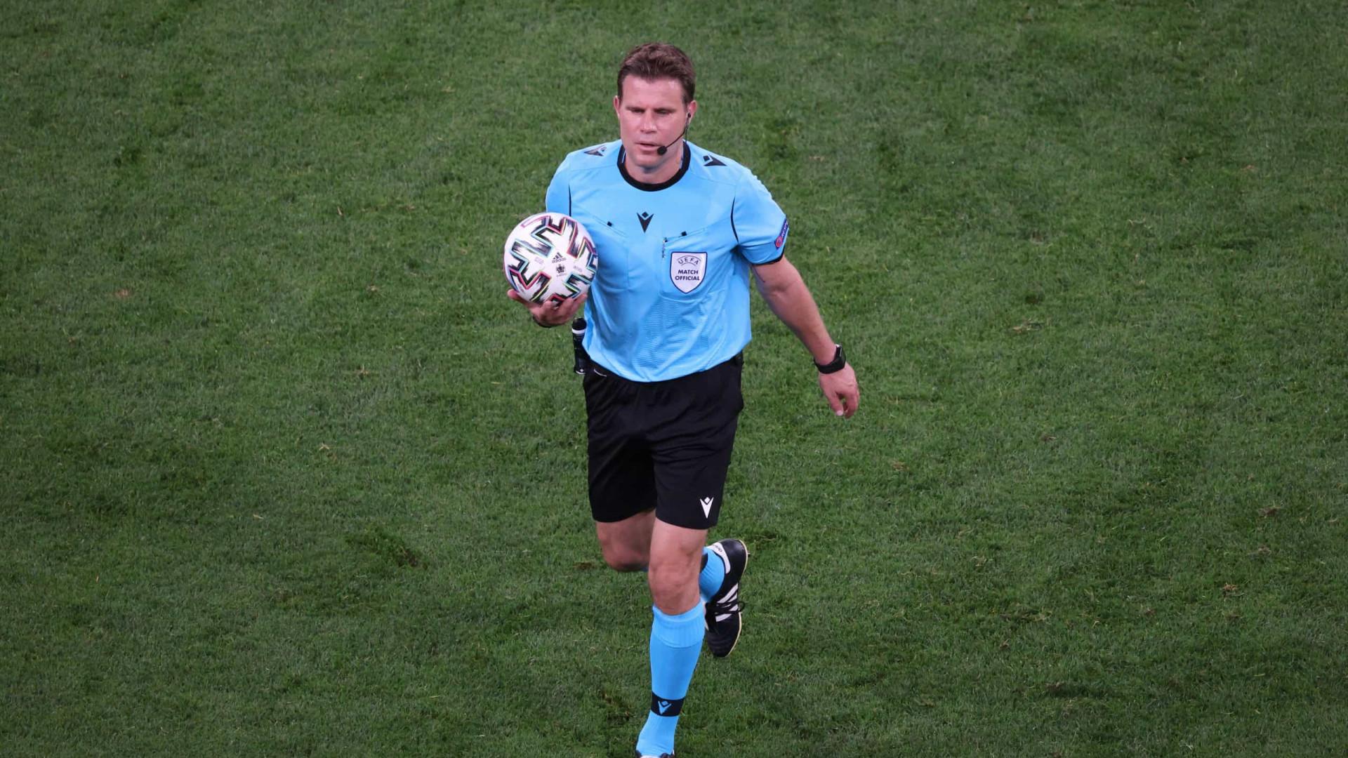 Portugal já conhece o árbitro para o encontro com a Bélgica