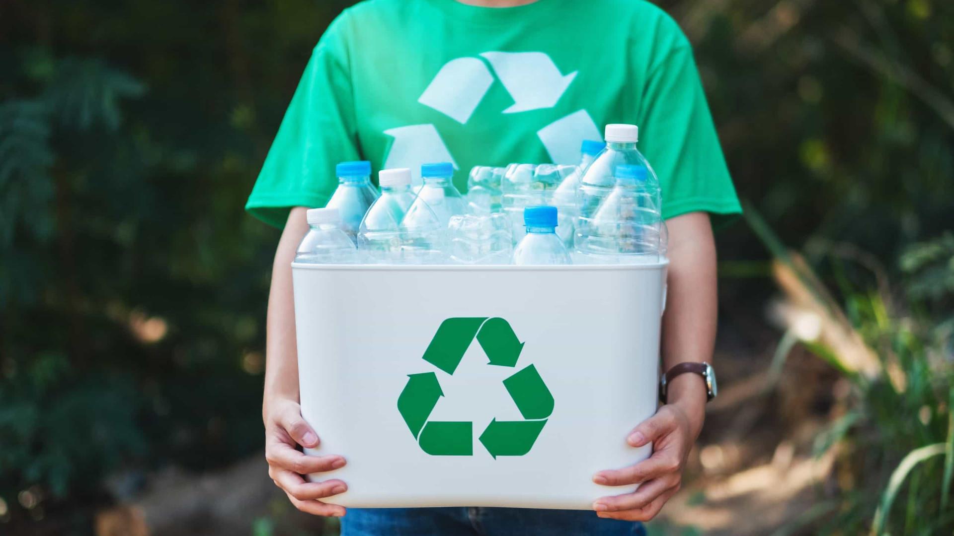 Repensar a reciclagem de plástico