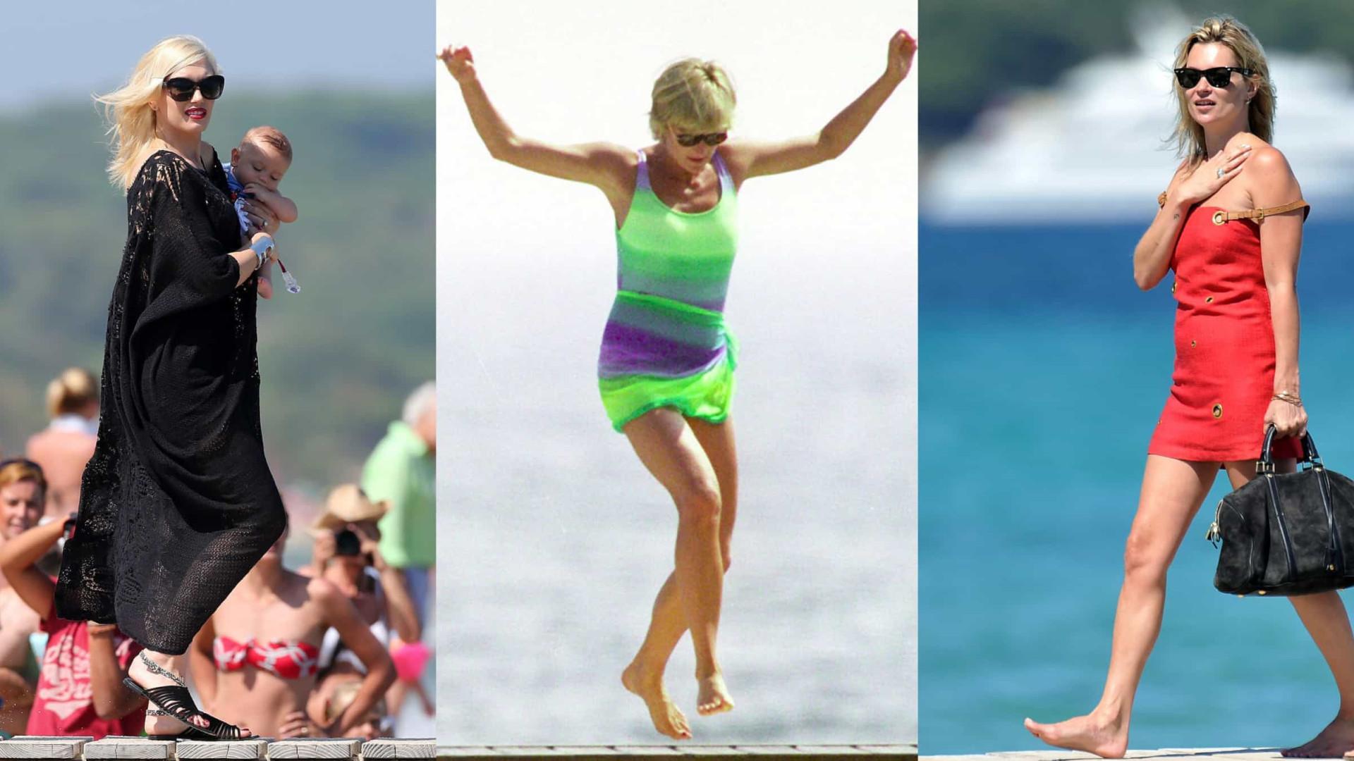 As férias das celebridades em Saint-Tropez