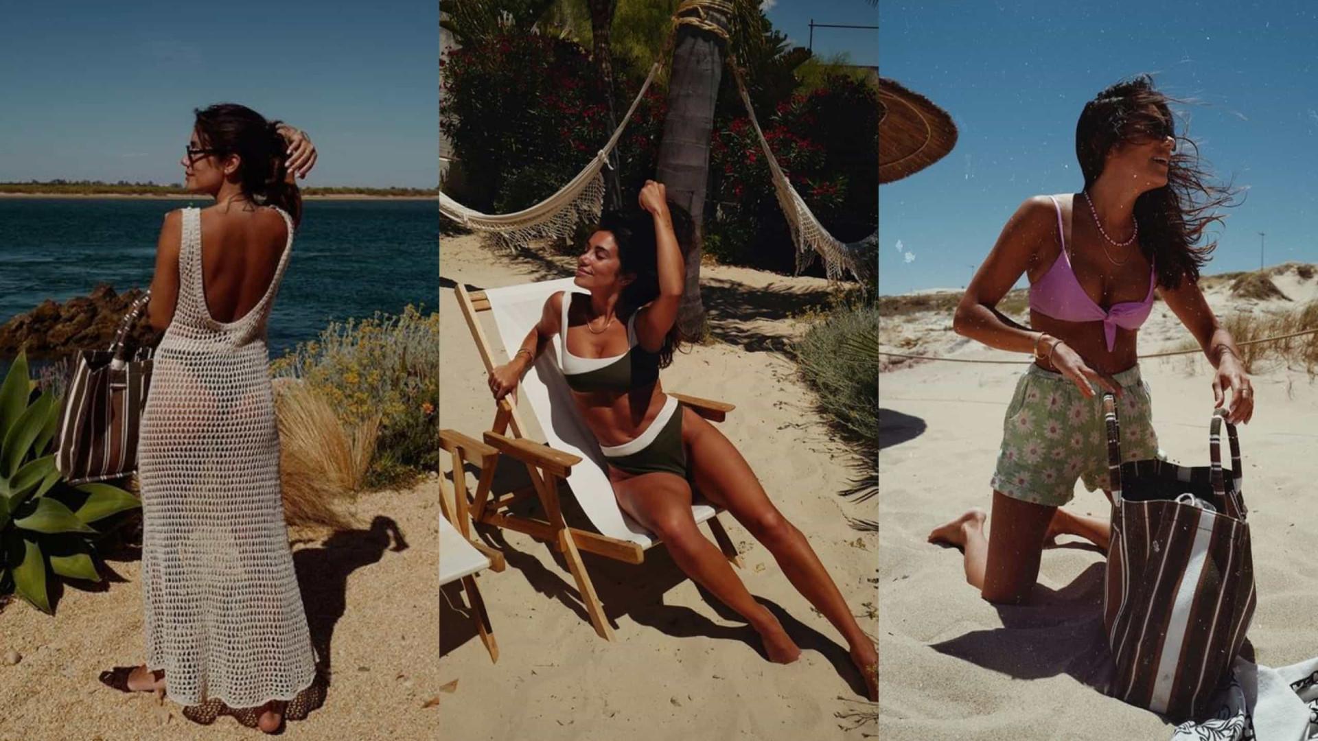 Conforto e elegância. Os visuais de praia usados por Mia Rose