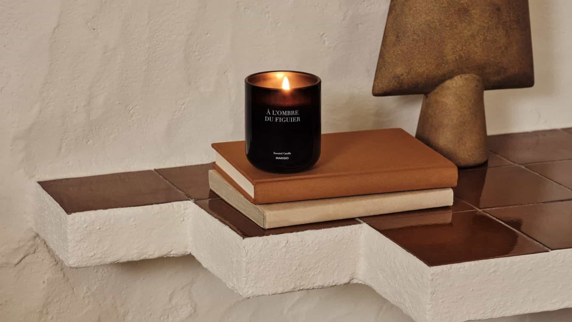 Nova coleção de velas da Mango é inspirada no Mediterrâneo