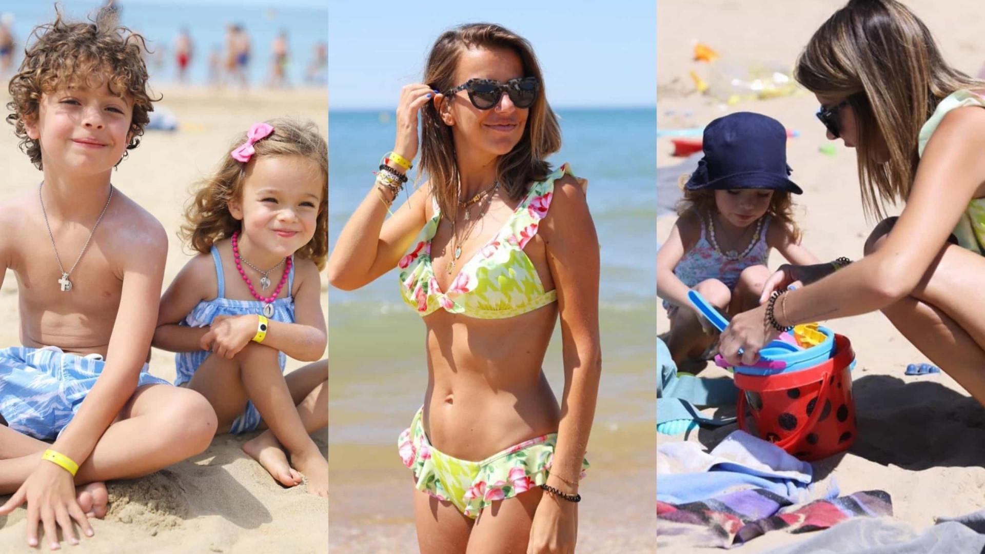 'Pipoca' de férias com os filhos em Espanha. As primeiras fotos