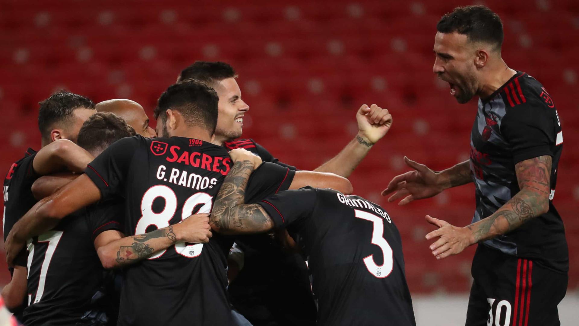 Benfica vence Spartak de Vitória e dá passo de gigante rumo ao playoff