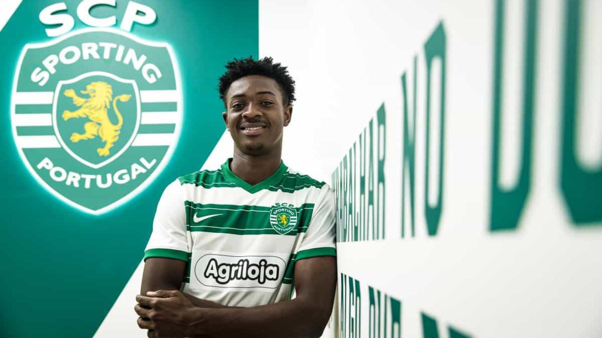 Sporting anuncia internacional jovem para os sub-23