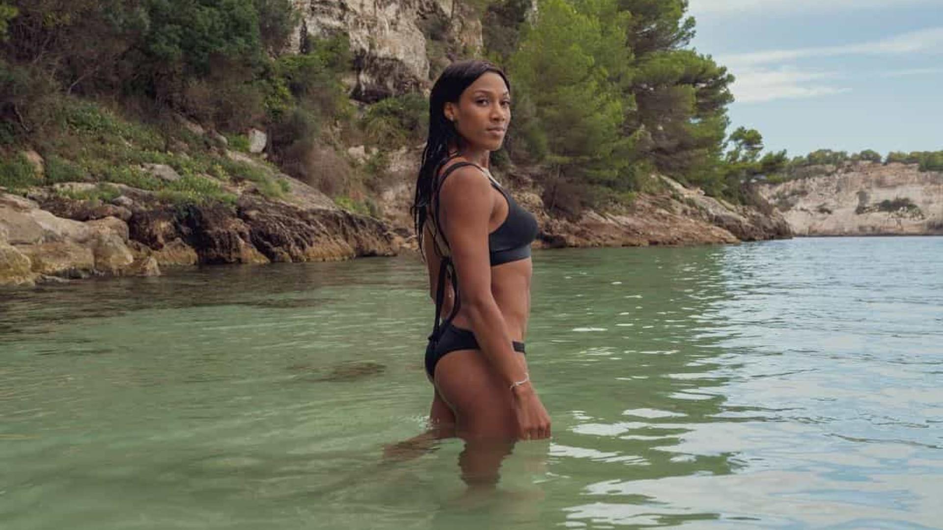 """Patrícia Mamona despede-se de Menorca com """"último banho"""""""