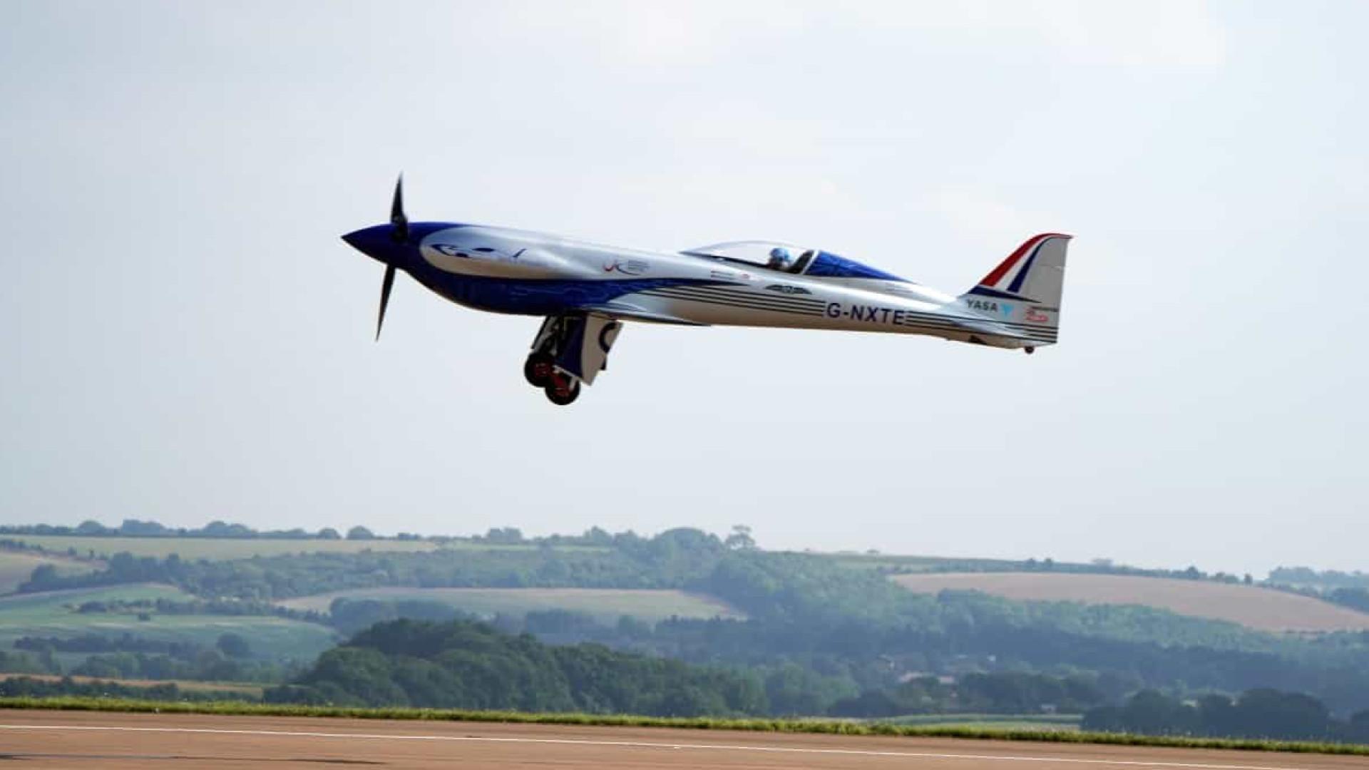 Rolls-Royce completou primeiro voo de avião 100% elétrico