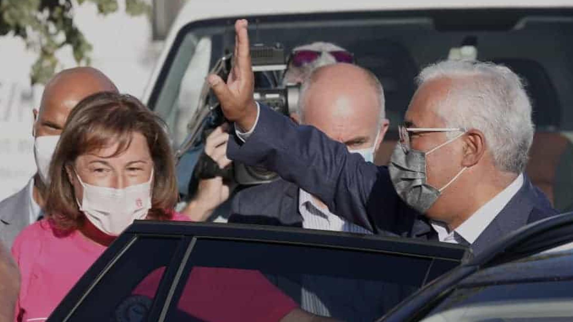 Entre Lisboa e Setúbal, será difícil líderes não se cruzarem em campanha