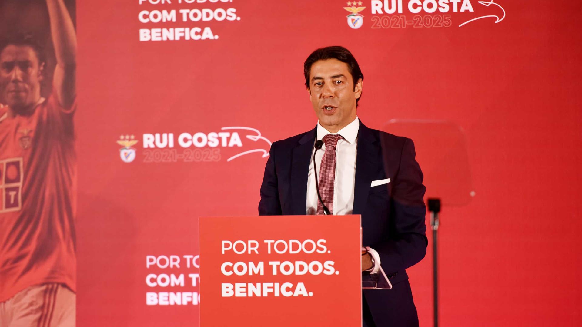 Eleições no Benfica: Rui Costa fará mudanças na lista que está a preparar