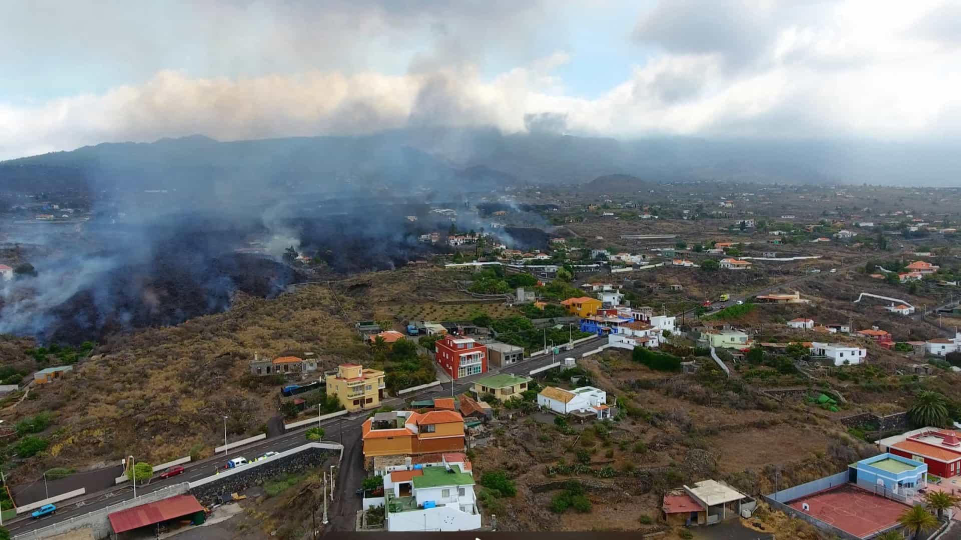 "Portuguesa abandona casa em La Palma. ""Estava no trajeto da lava"""