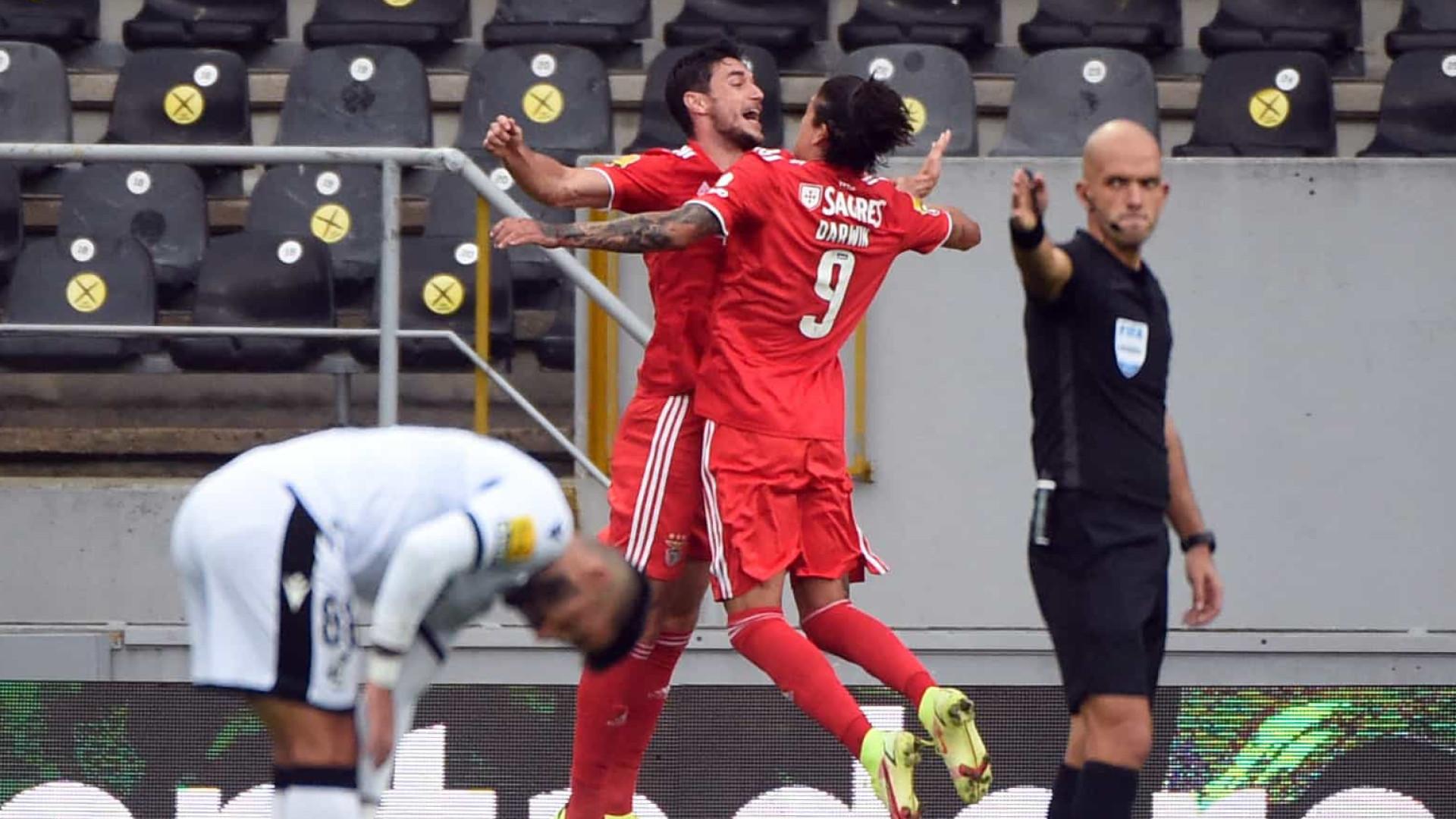 Benfica foi rei e senhor no Castelo. Águias seguem dominadoras na I Liga