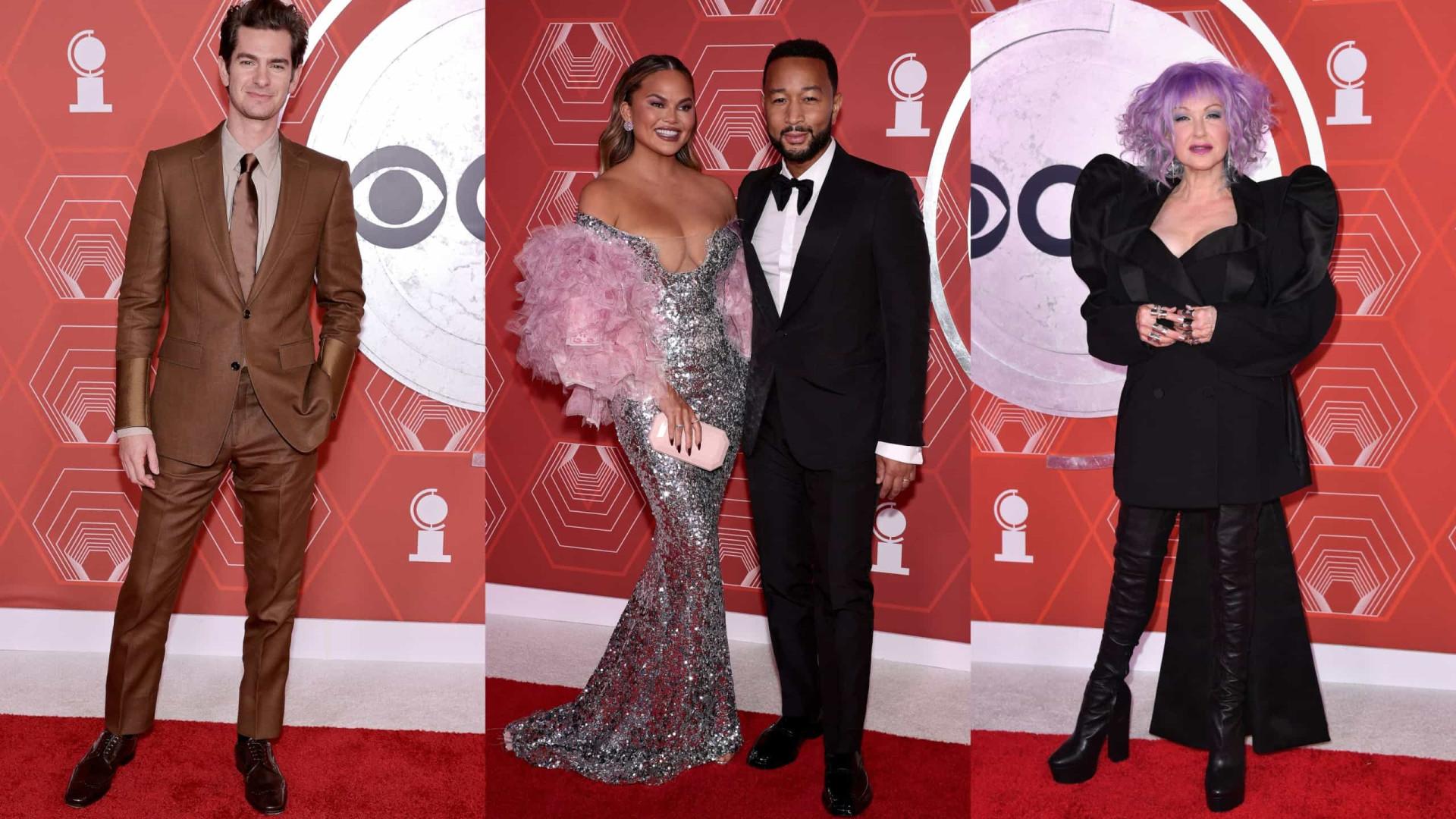 Os visuais que se destacaram na passadeira vermelha dos Tony Awards