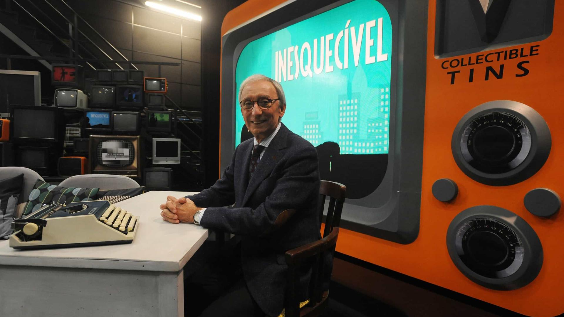 """""""Estou convencido que quando deixar a TV não terei muito tempo de vida"""""""