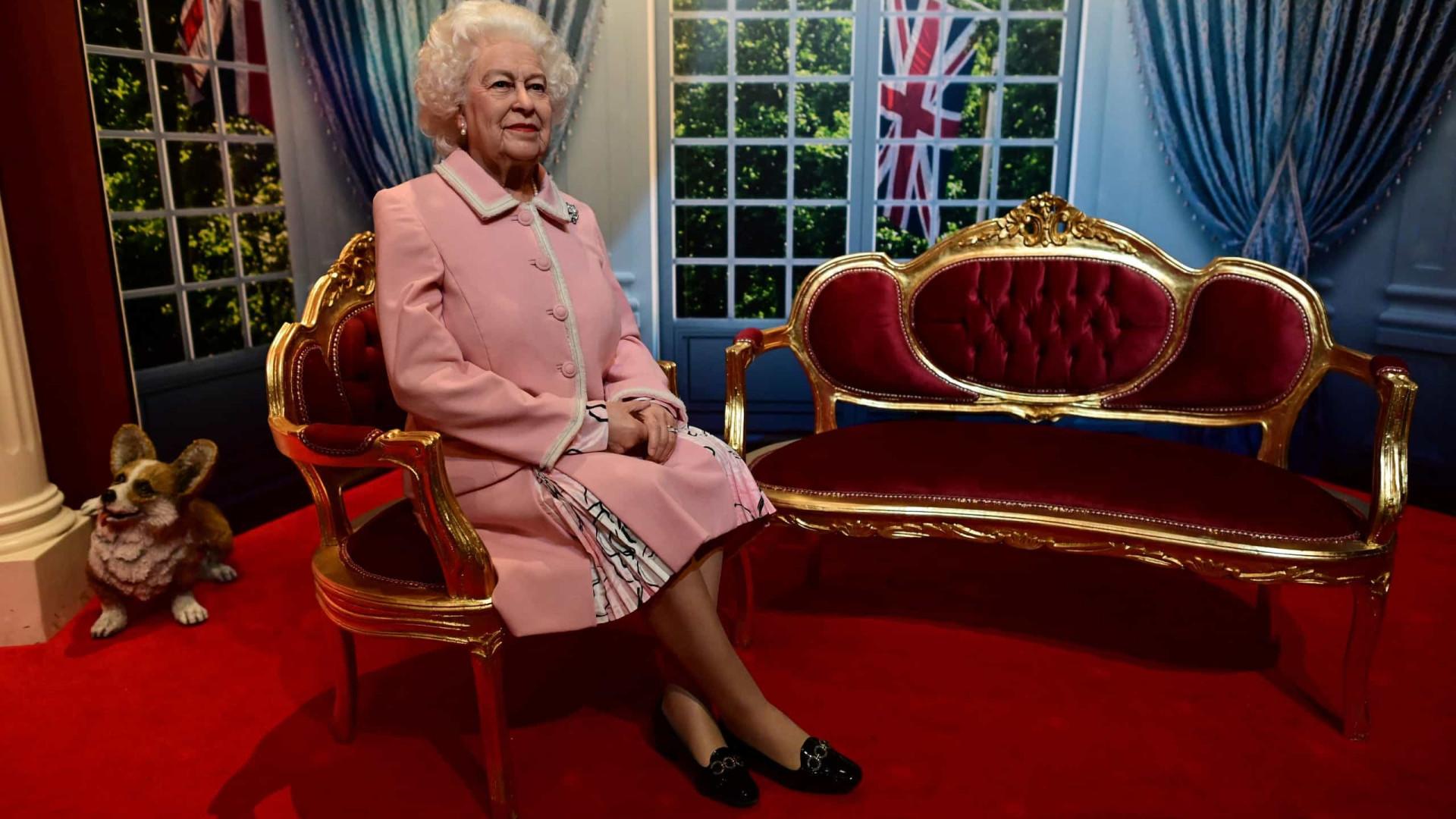 Nova figura de cera de Isabel II inaugurada no Madame Tussauds Blackpool
