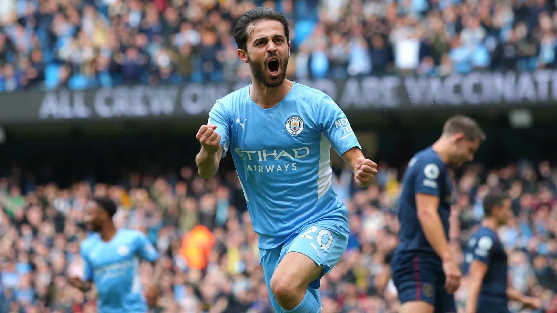 Bernardo Silva comanda City na vitória frente ao Burnley
