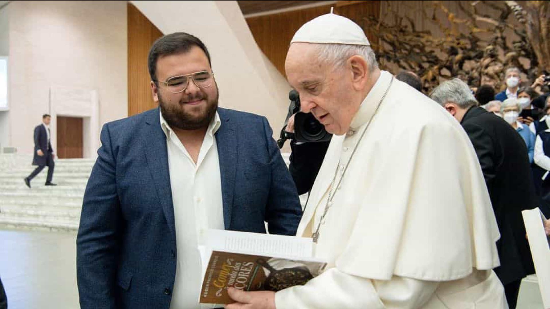 Rúben Pacheco Correia revela confidência que lhe foi feita pelo Papa