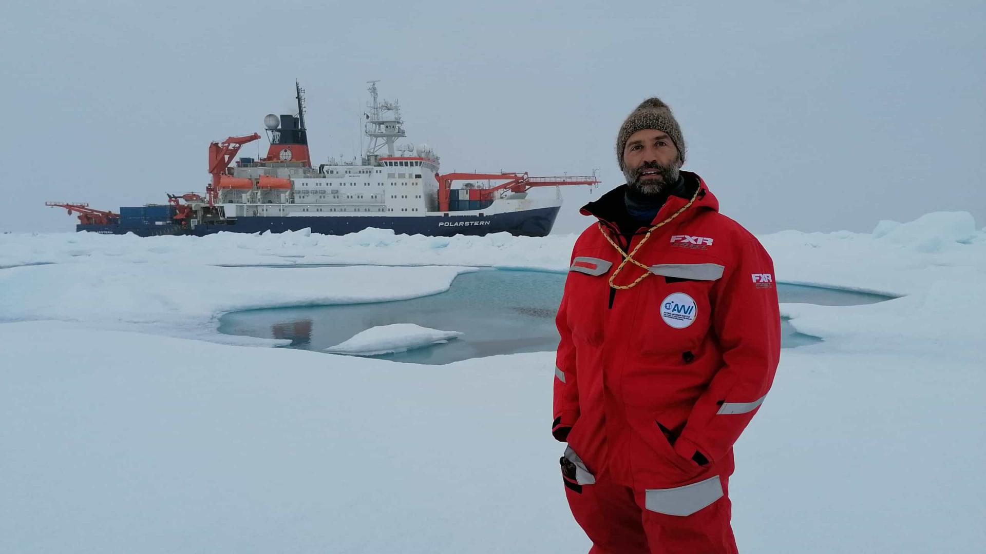 """Missão no Ártico. """"Problema é que urgência só será percebida em 30 anos"""""""