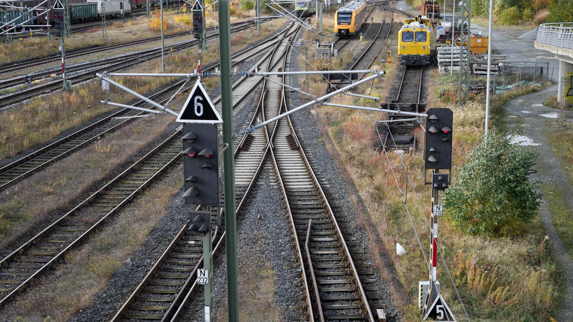 Tempestade Ignatz afeta tráfego ferroviário em vários estados na Alemanha