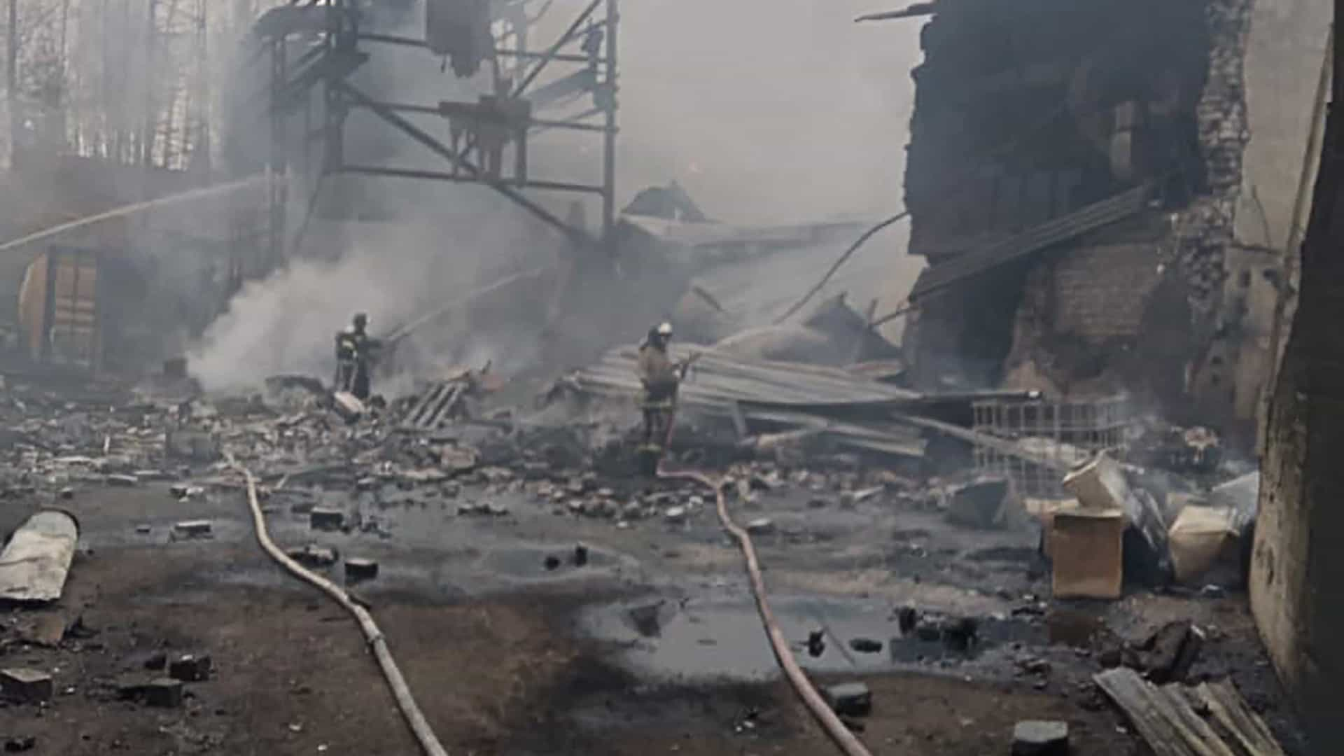 Quinze pessoas morreram em incêndio na Rússia