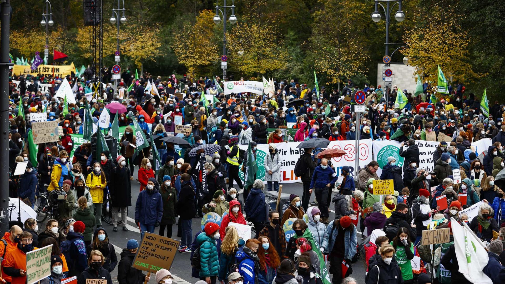 Clima. Milhares de jovens protestam em Berlim para exigir mais do Governo