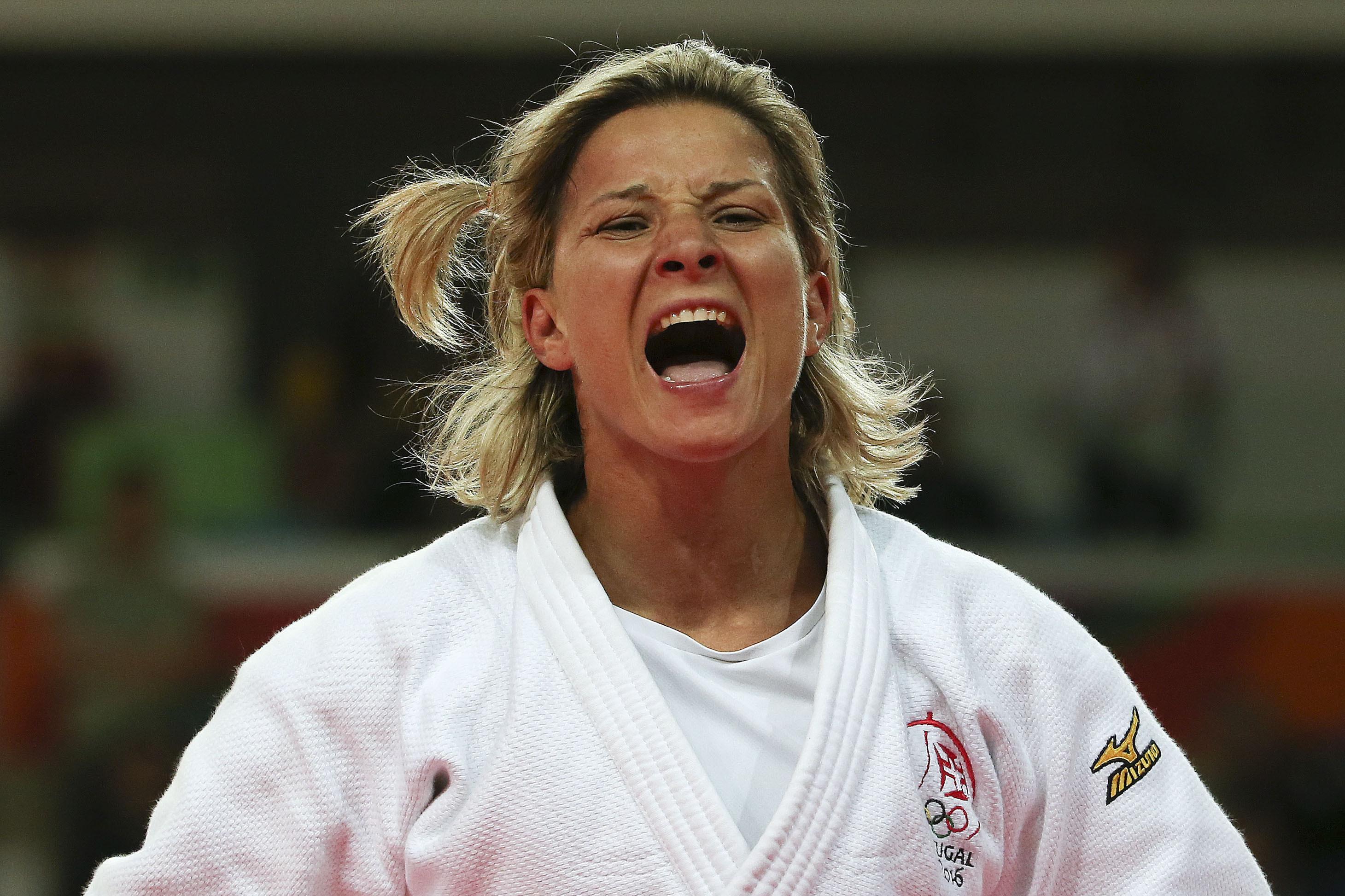 Joana Ramos e Telma Monteiro terminam Grand Slam em quinto