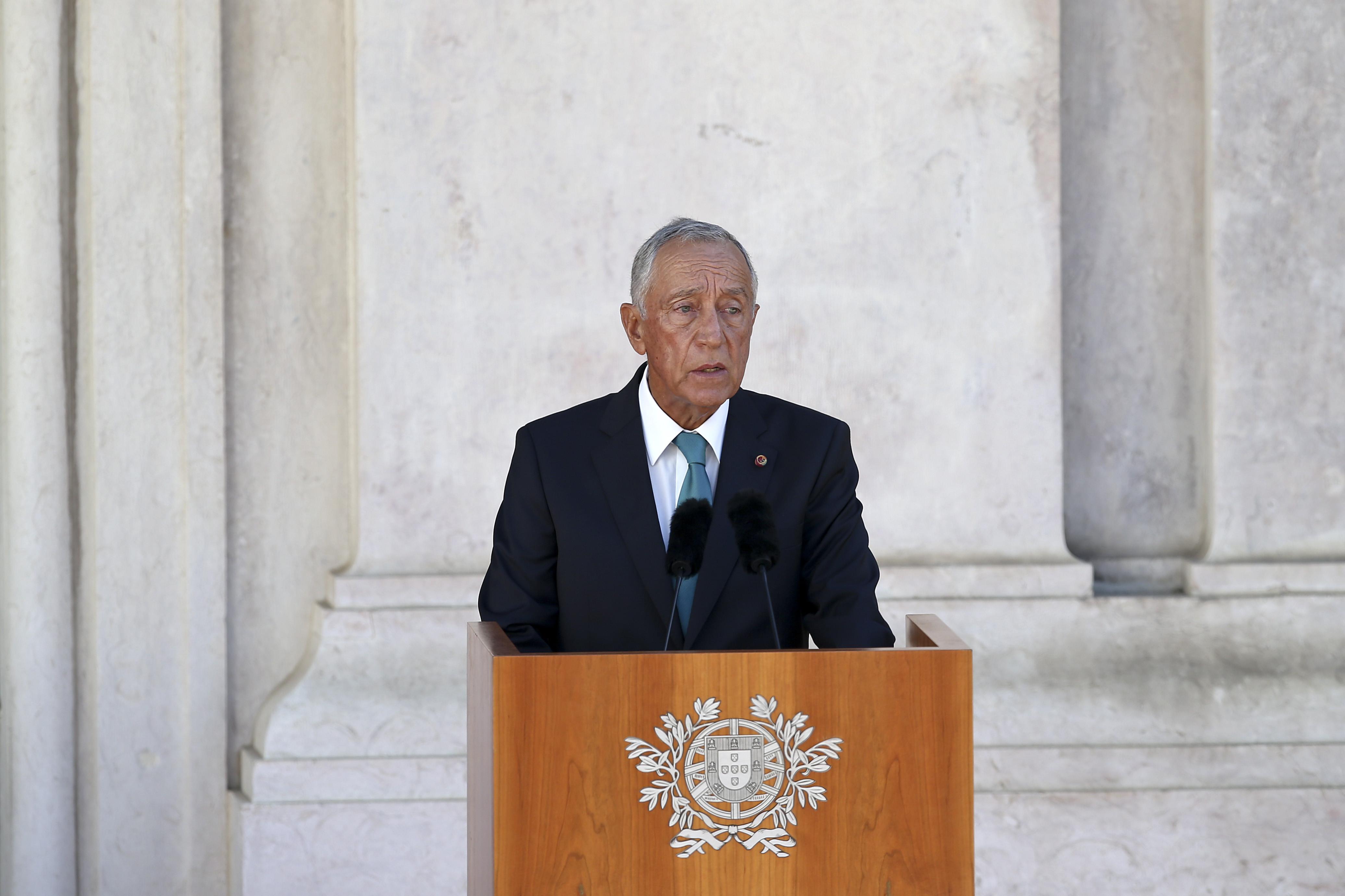 Marcelo discursa hoje no 108.º aniversário da Implantação da República
