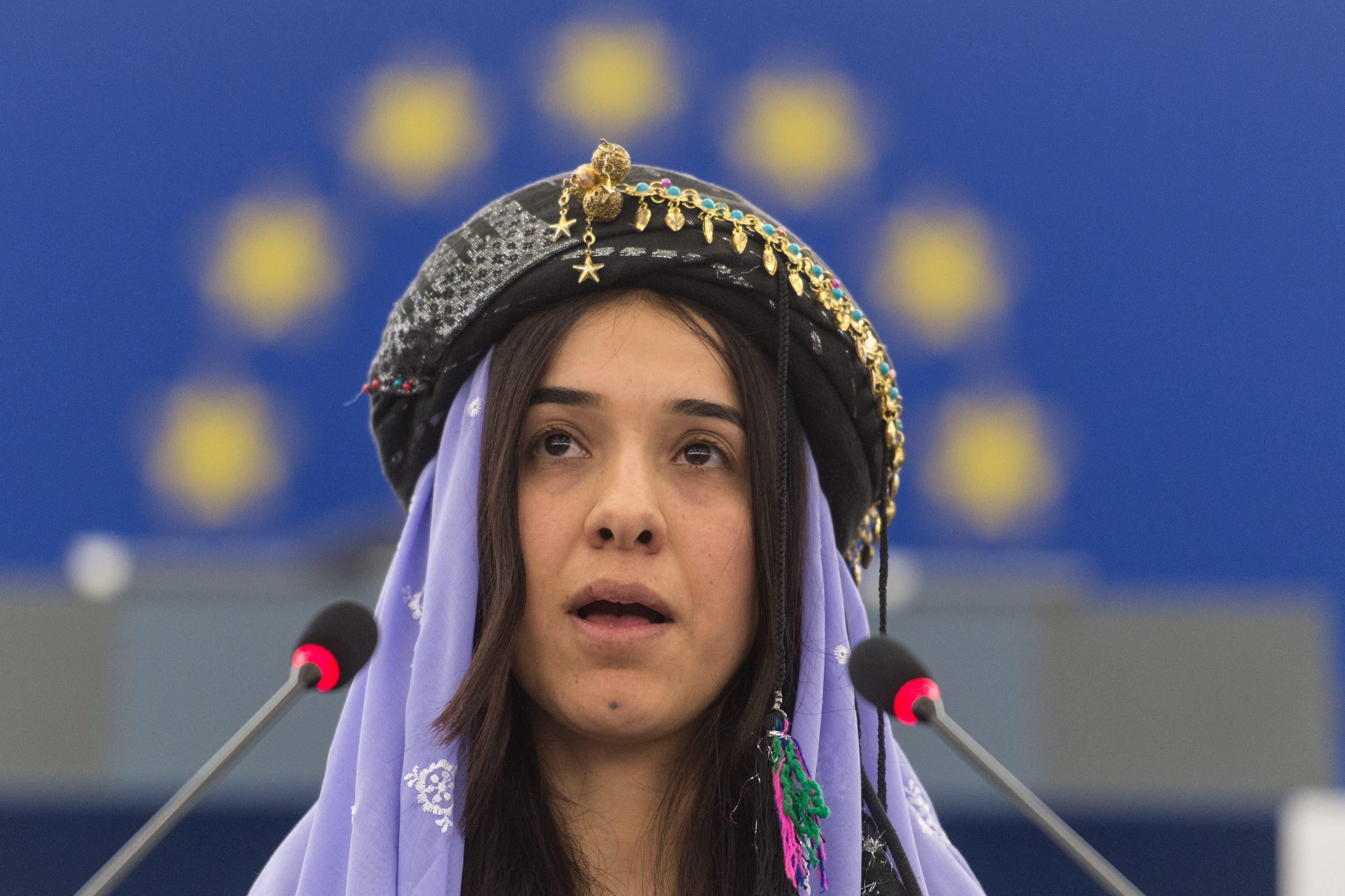 Nadia Murad, de escrava de jihadistas a Prémio Nobel da Paz