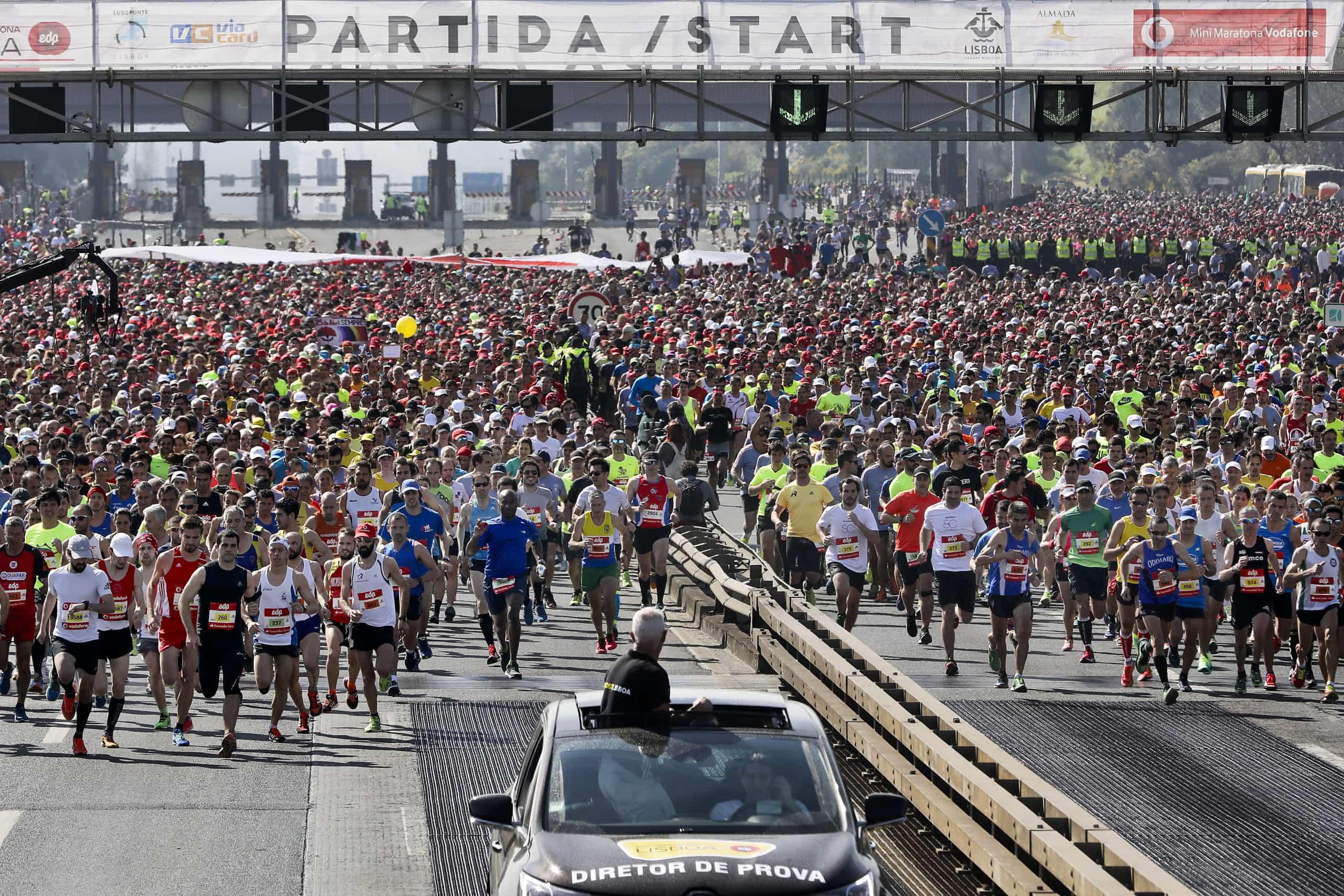 Inscrições para a meia maratona de Lisboa esgotadas