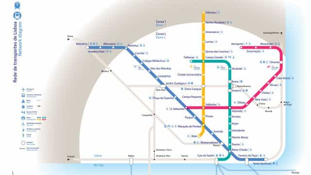 Agência do Ambiente dá 'luz verde' a expansão do Metro de Lisboa