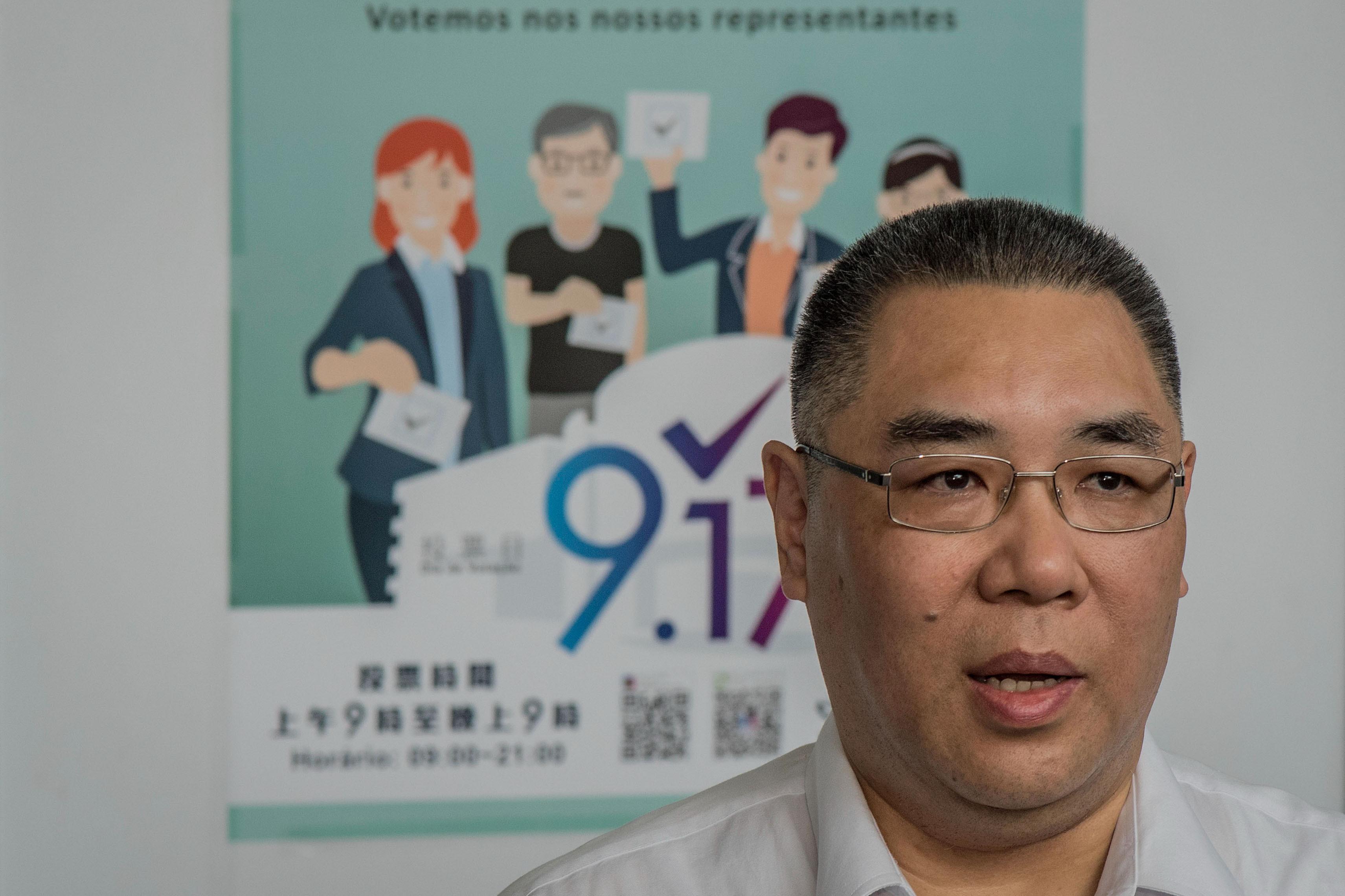 Chefe do Governo de Macau visita Portugal e reúne-se com Costa e Marcelo