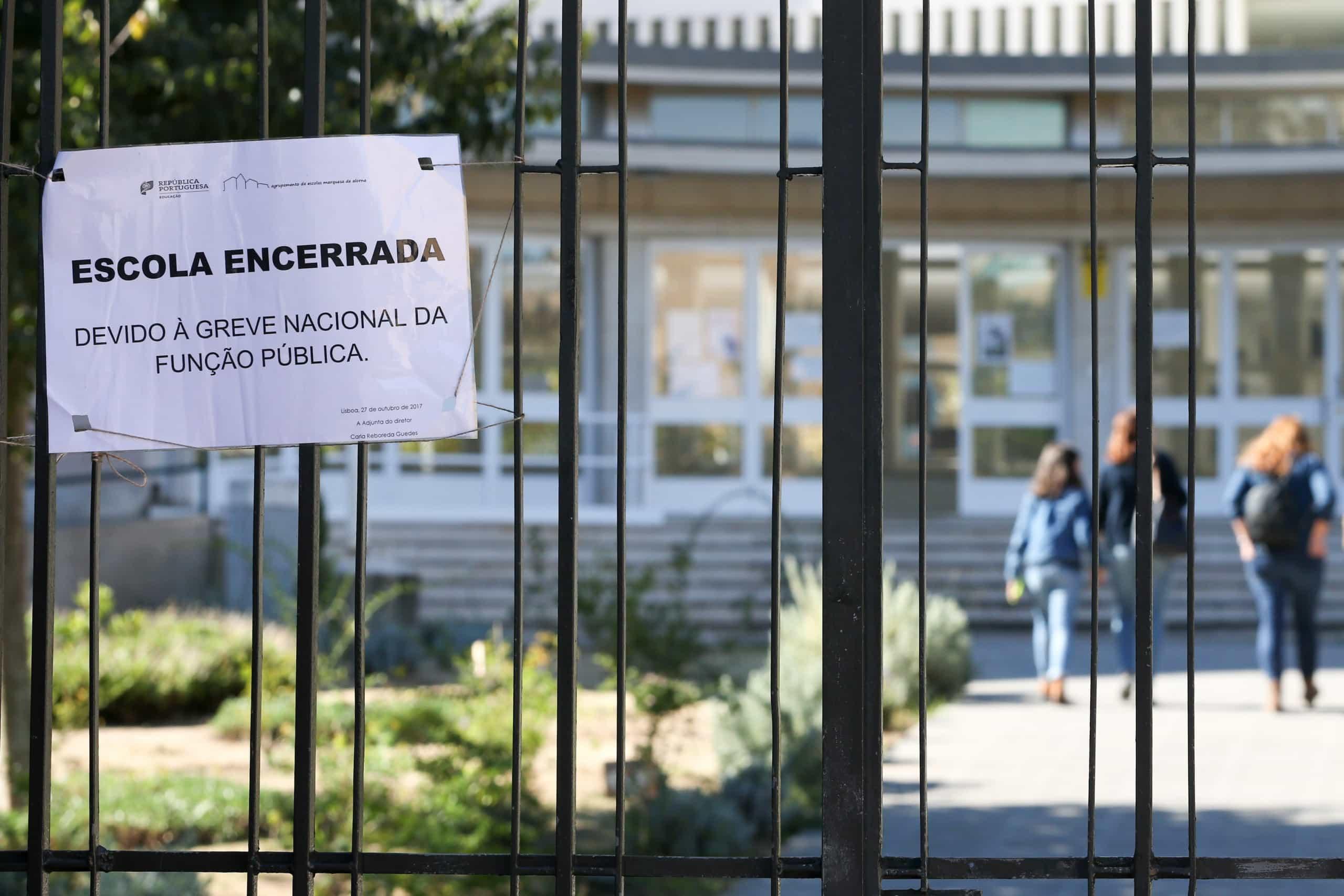 Há greve na Função Pública. Escolas fechadas e atos médicos cancelados