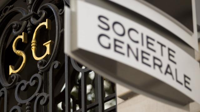 Societé Générale vai eliminar 1.600 postos trabalho em todo o mundo
