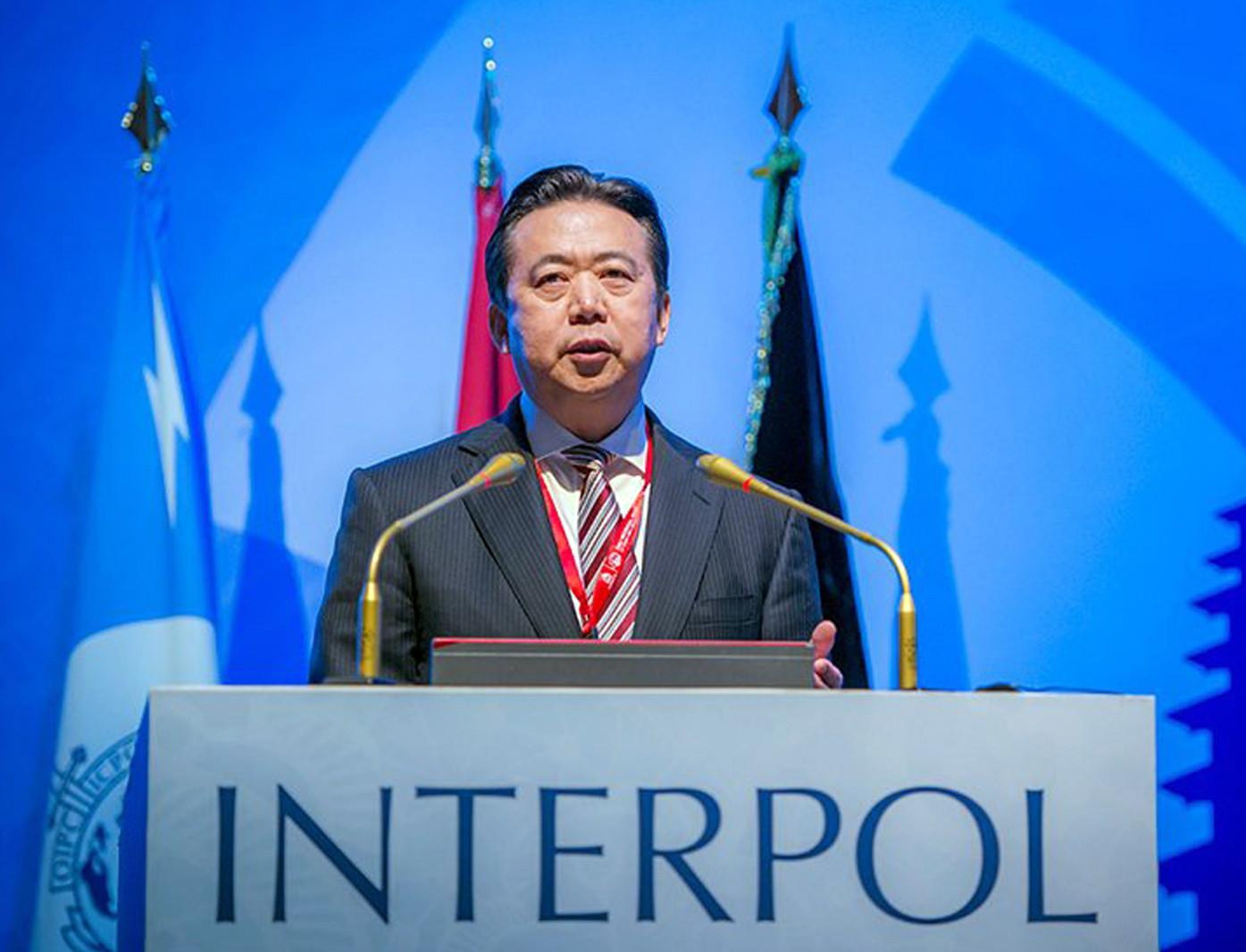 Interpol pediu informações sobre desaparecimento de presidente na China