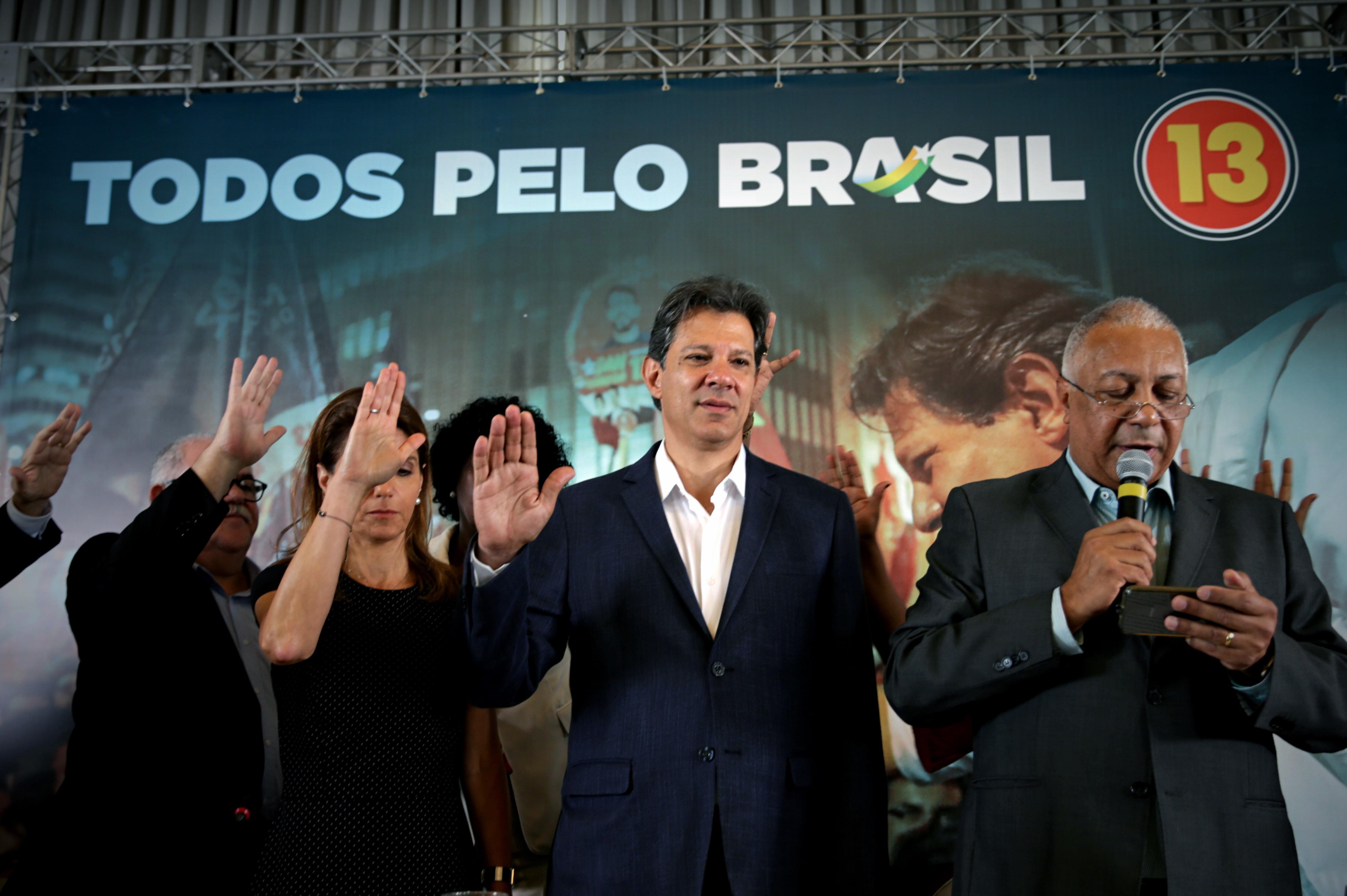 """Haddad afirma que Bolsonaro é uma """"aberração"""" e """"só vomita barbaridades"""""""