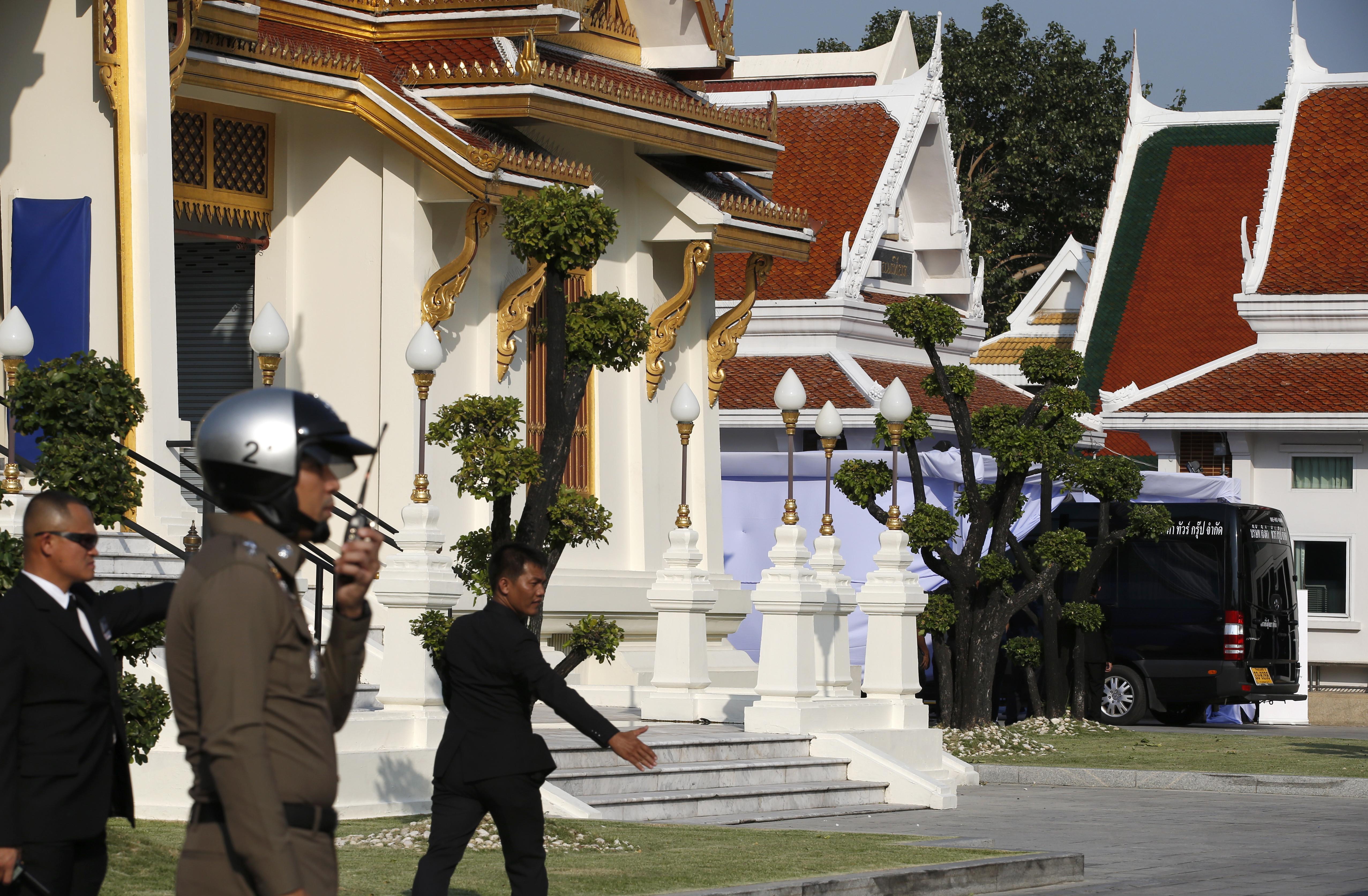 Funeral budista do dono do Leicester começou em Banguecoque