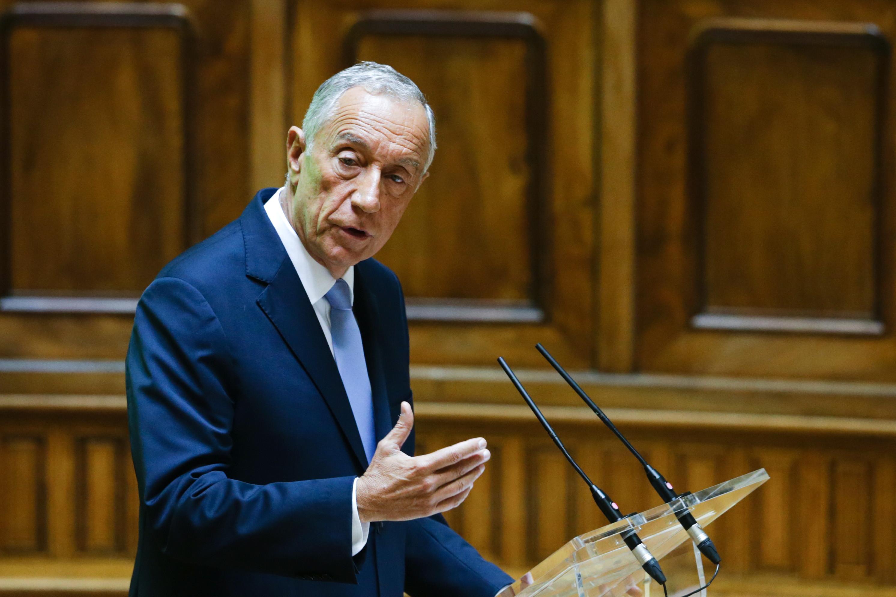 Presidente Marcelo já decidiu data para as europeias e legislativas