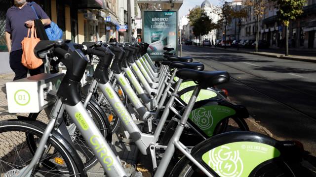 Bicicletas partilhadas de Lisboa ultrapassam um milhão de viagens
