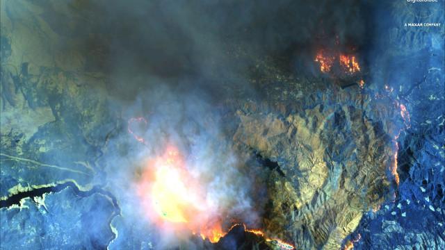 Novo balanço aponta para pelo menos 25 mortos nos incêndios na Califórnia