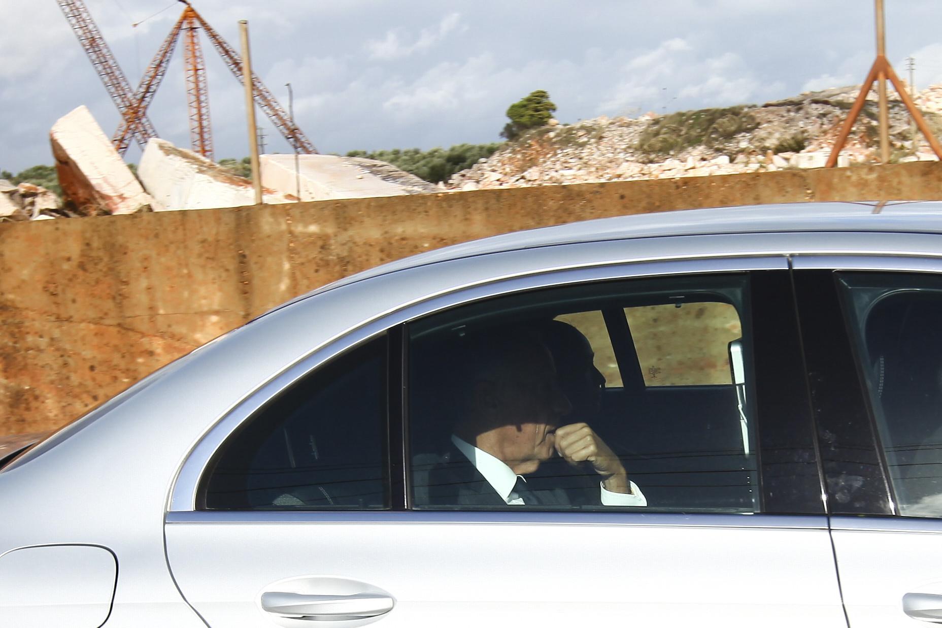 Acidente/Borba: Presidente fez visita 'visita relâmpago' sem declarações