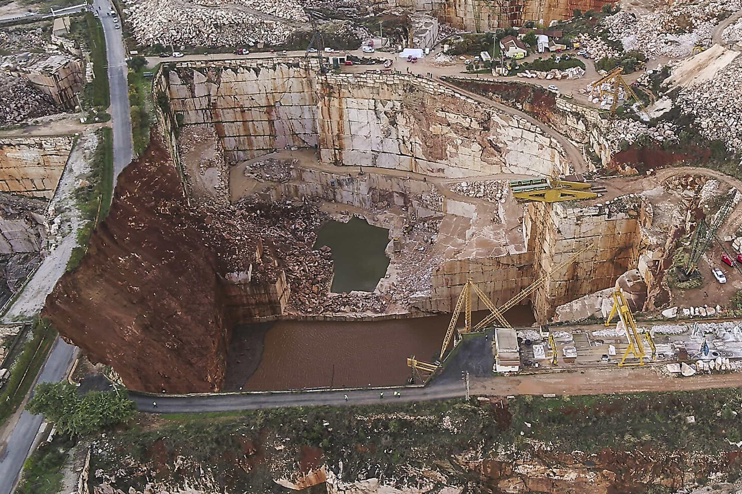 ACT vai averiguar condições de segurança dos trabalhadores da pedreira